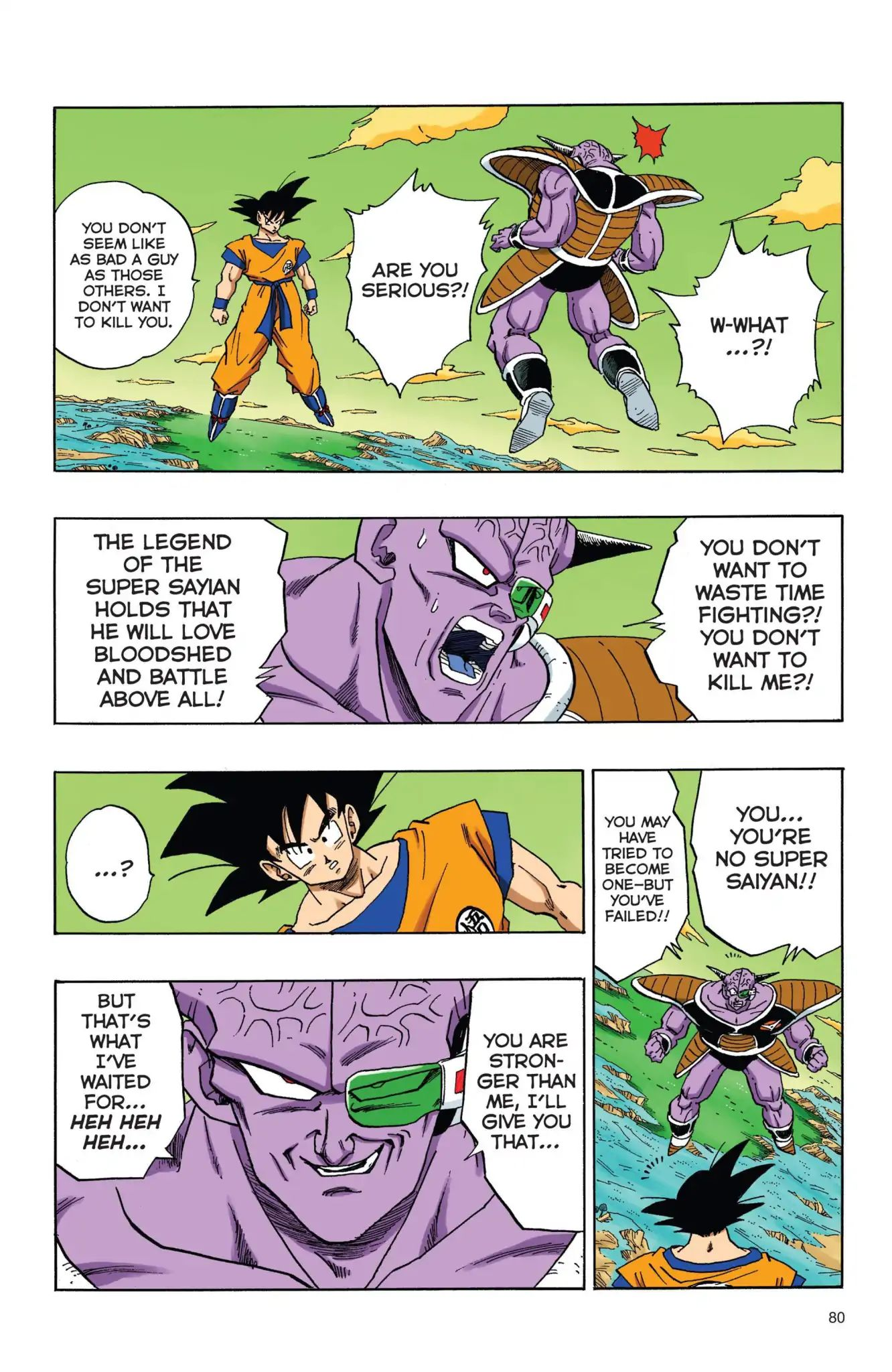 Dragon Ball Full Color Freeza Arc Chapter 40  Online Free Manga Read Image 5