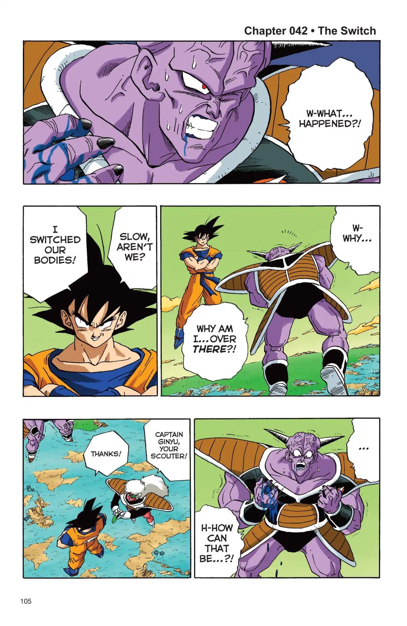 Dragon Ball Full Color Freeza Arc Chapter 42  Online Free Manga Read Image 1