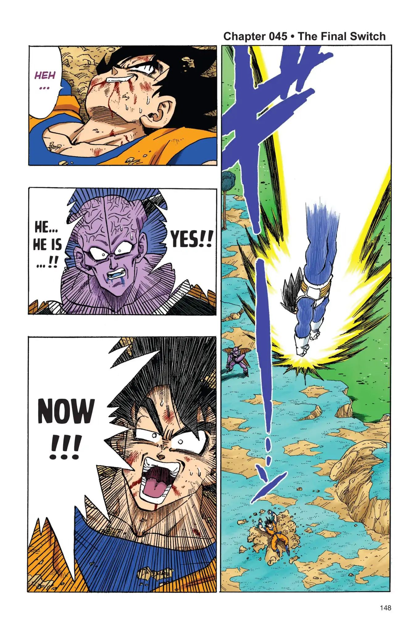 Dragon Ball Full Color Freeza Arc Chapter 45  Online Free Manga Read Image 1