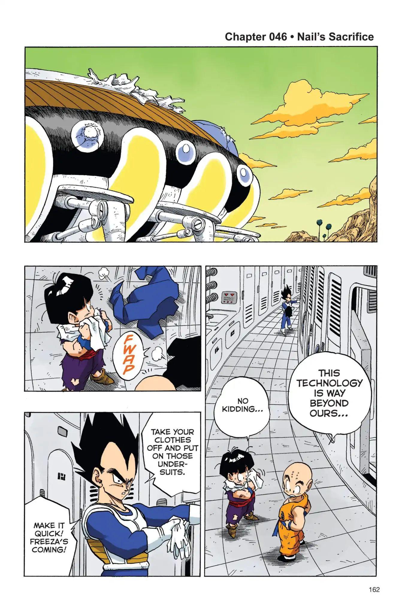 Dragon Ball Full Color Freeza Arc Chapter 46  Online Free Manga Read Image 1