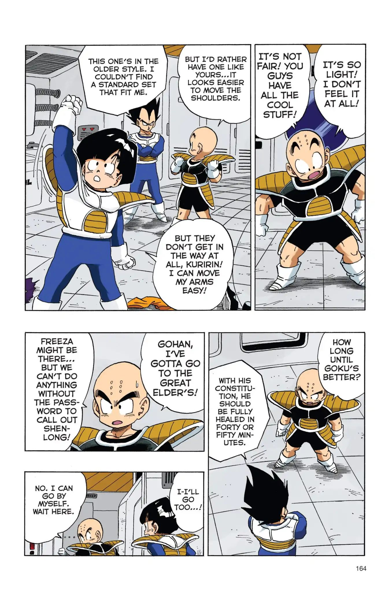 Dragon Ball Full Color Freeza Arc Chapter 46  Online Free Manga Read Image 3