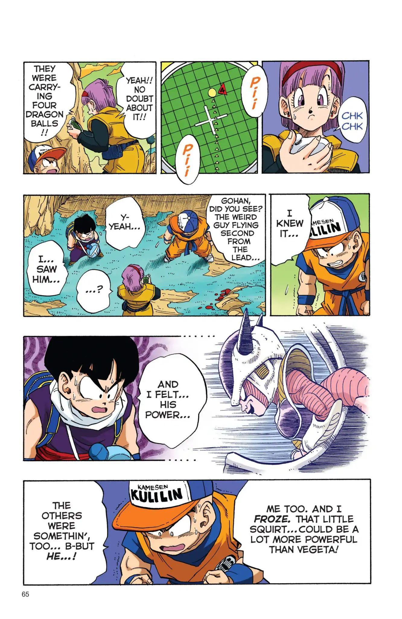 Dragon Ball Full Color Freeza Arc Chapter 5  Online Free Manga Read Image 4