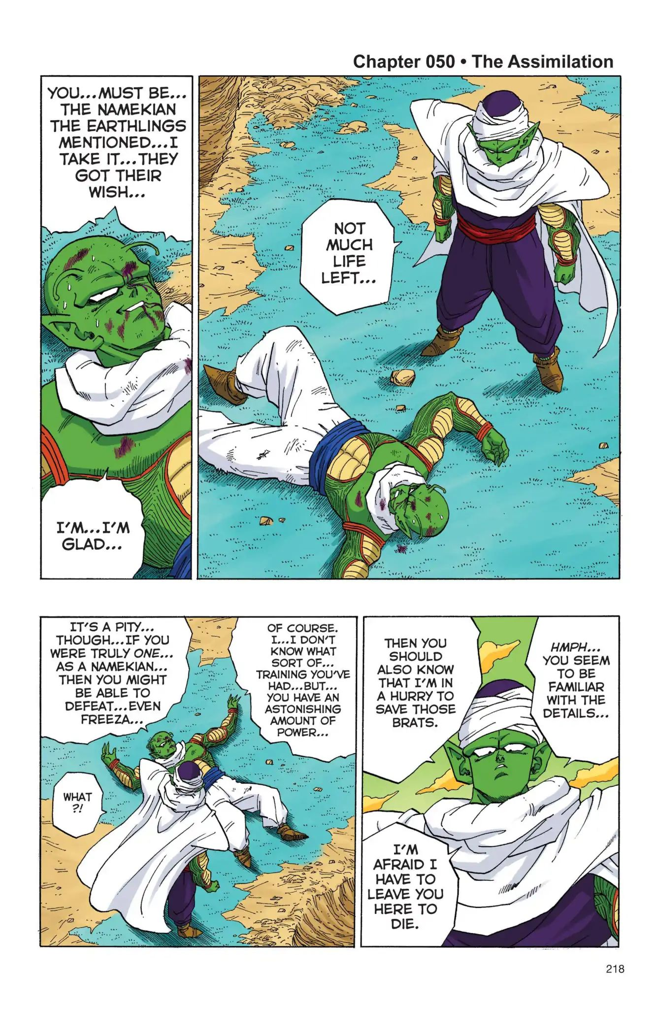 Dragon Ball Full Color Freeza Arc Chapter 50  Online Free Manga Read Image 1