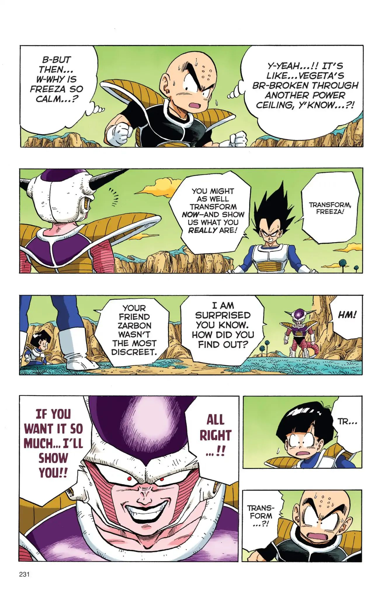 Dragon Ball Full Color Freeza Arc Chapter 50  Online Free Manga Read Image 14