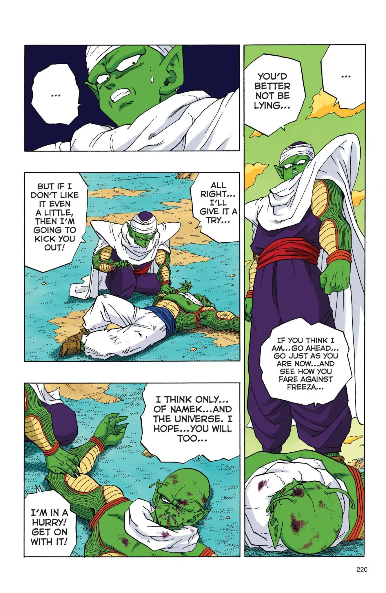 Dragon Ball Full Color Freeza Arc Chapter 50  Online Free Manga Read Image 3