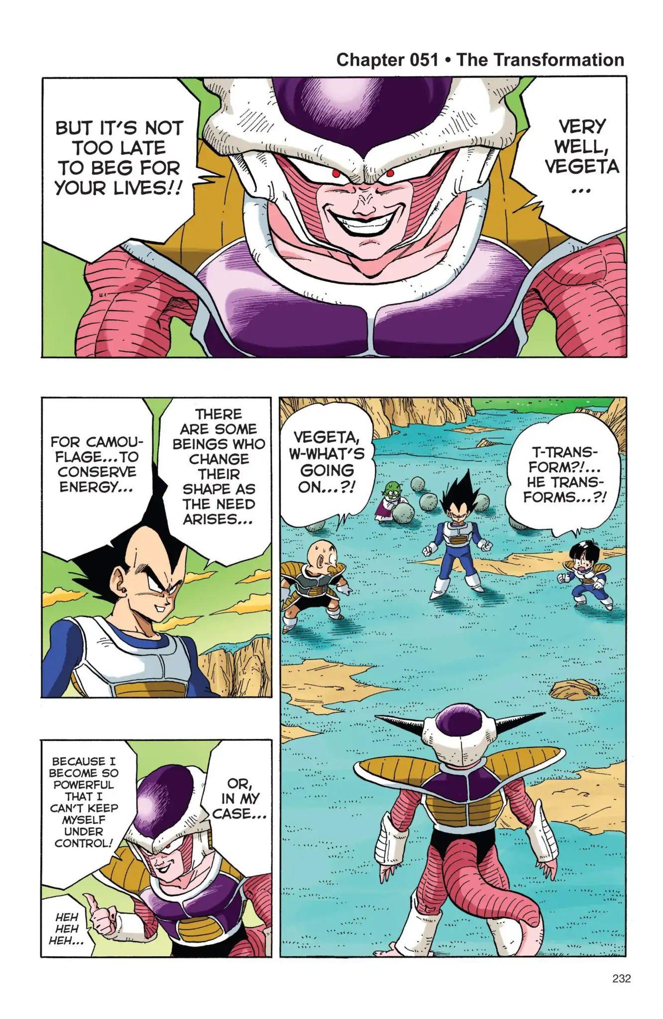Dragon Ball Full Color Freeza Arc Chapter 51  Online Free Manga Read Image 1