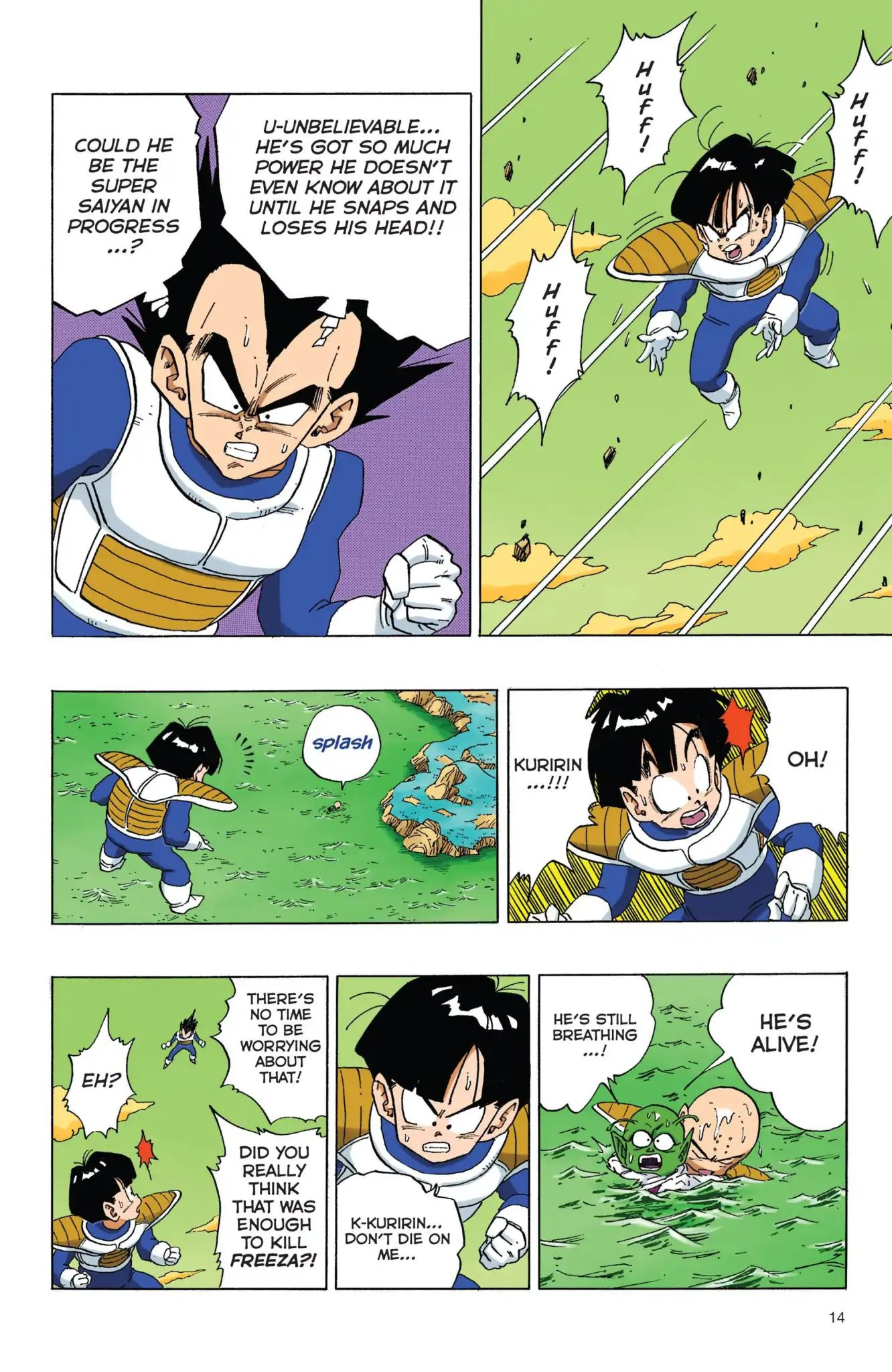 Dragon Ball Full Color Freeza Arc Chapter 52  Online Free Manga Read Image 15