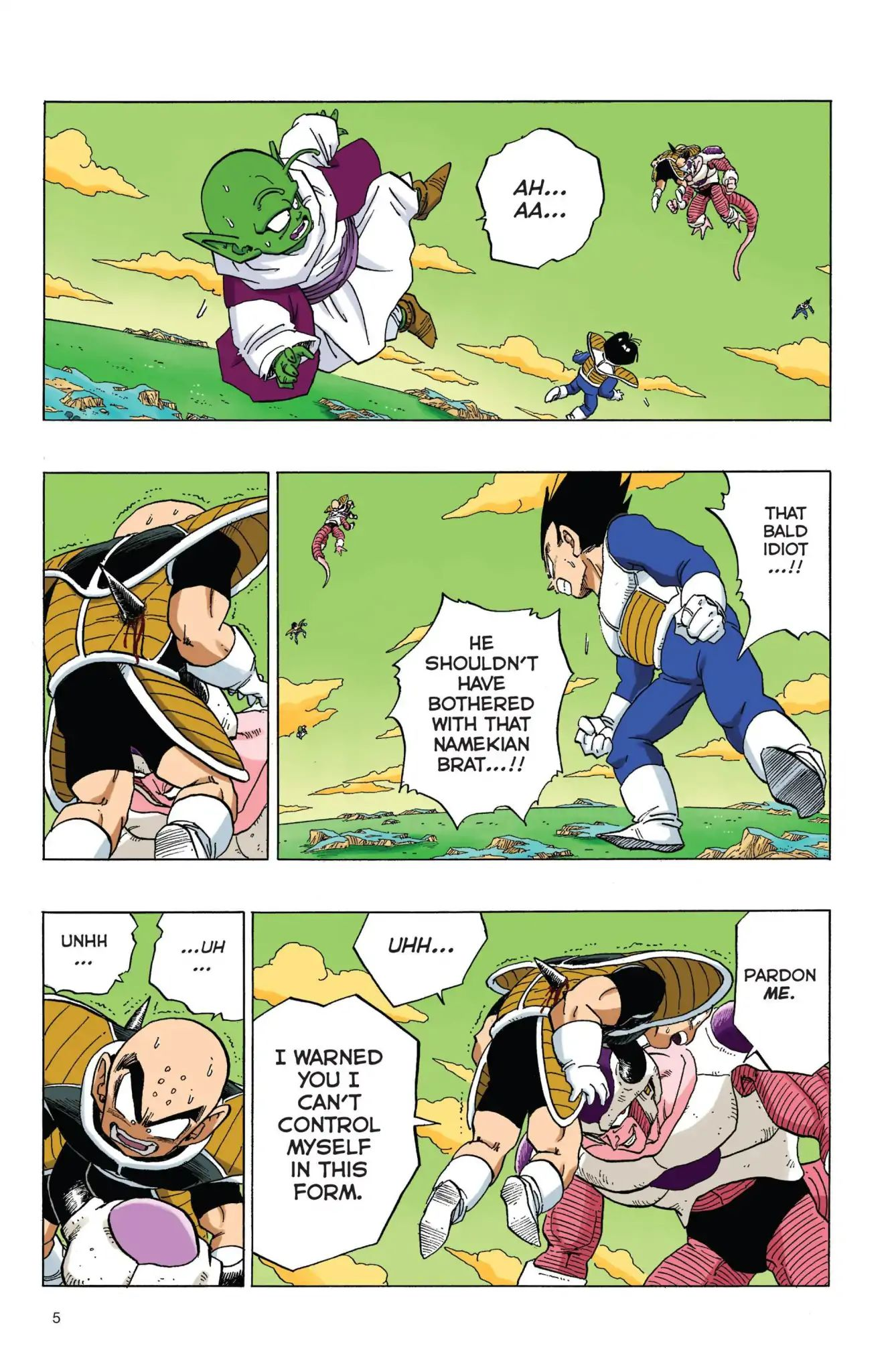 Dragon Ball Full Color Freeza Arc Chapter 52  Online Free Manga Read Image 6