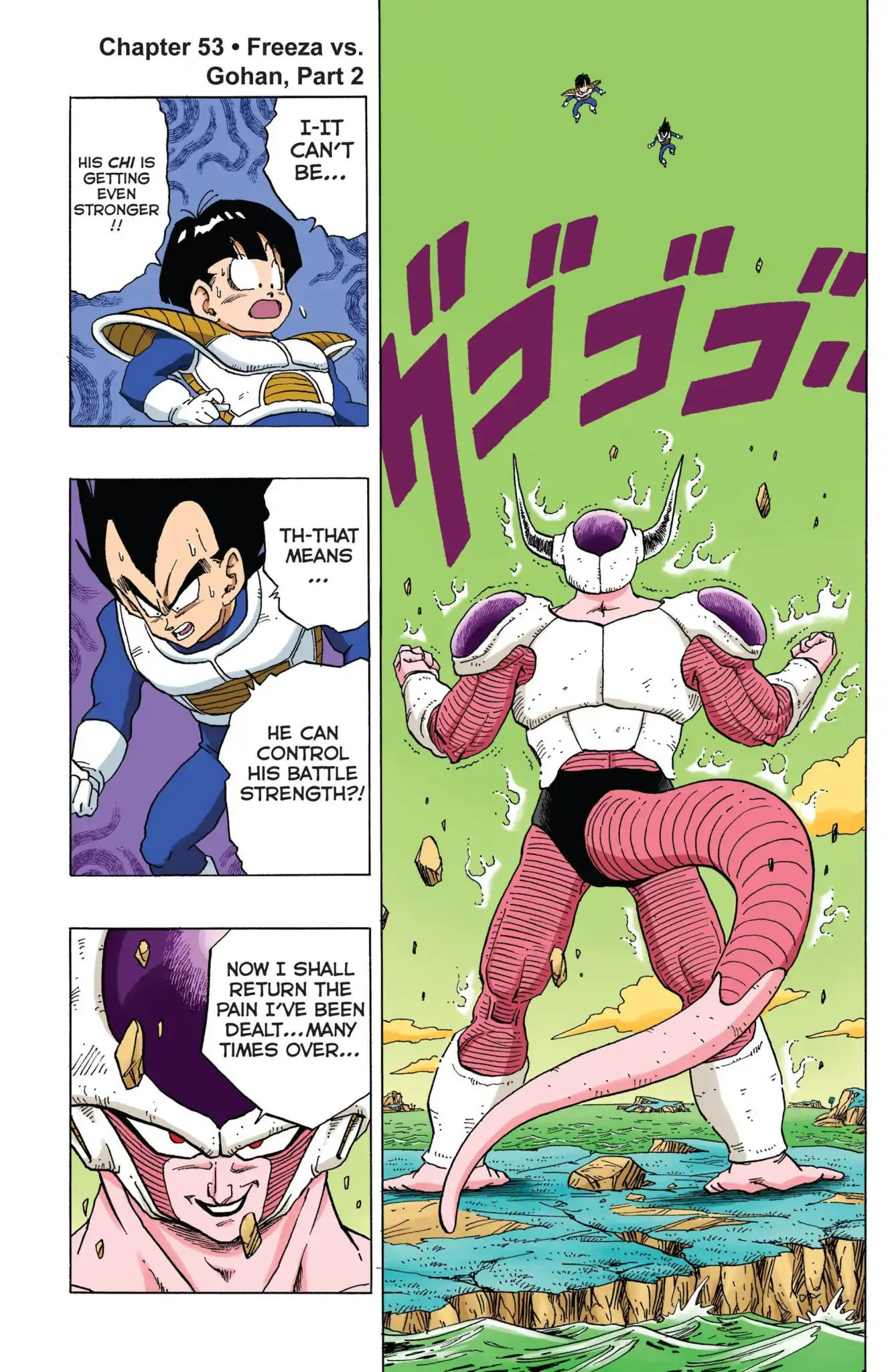 Dragon Ball Full Color Freeza Arc Chapter 53  Online Free Manga Read Image 1