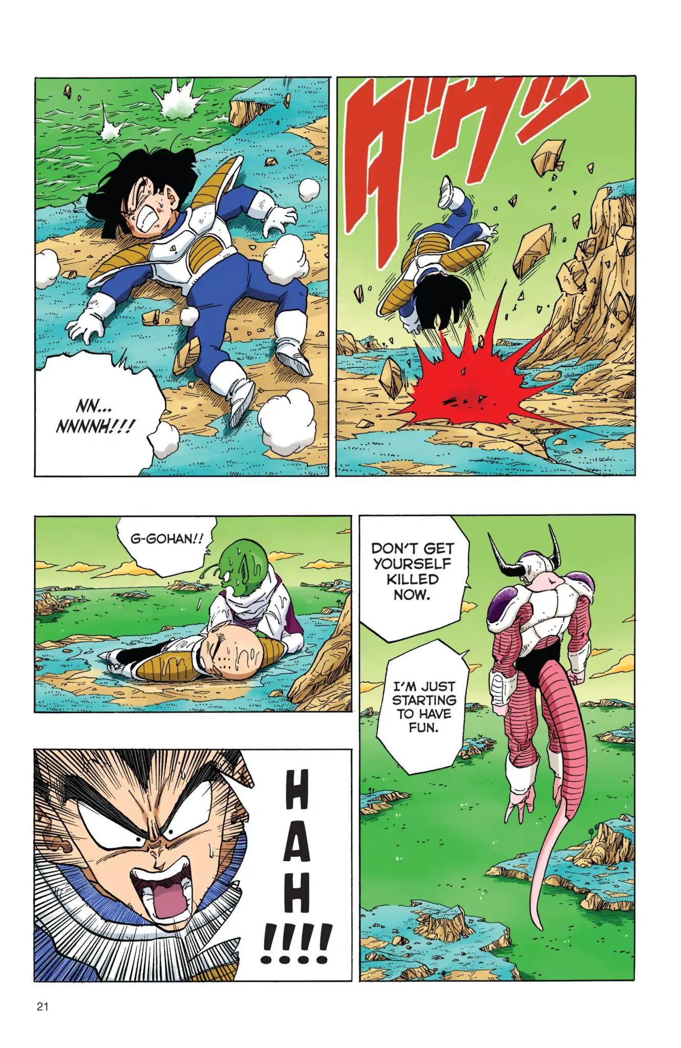 Dragon Ball Full Color Freeza Arc Chapter 53  Online Free Manga Read Image 4