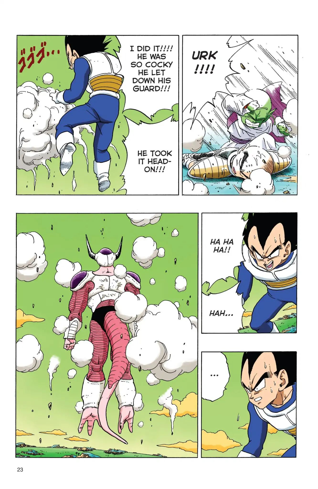 Dragon Ball Full Color Freeza Arc Chapter 53  Online Free Manga Read Image 6