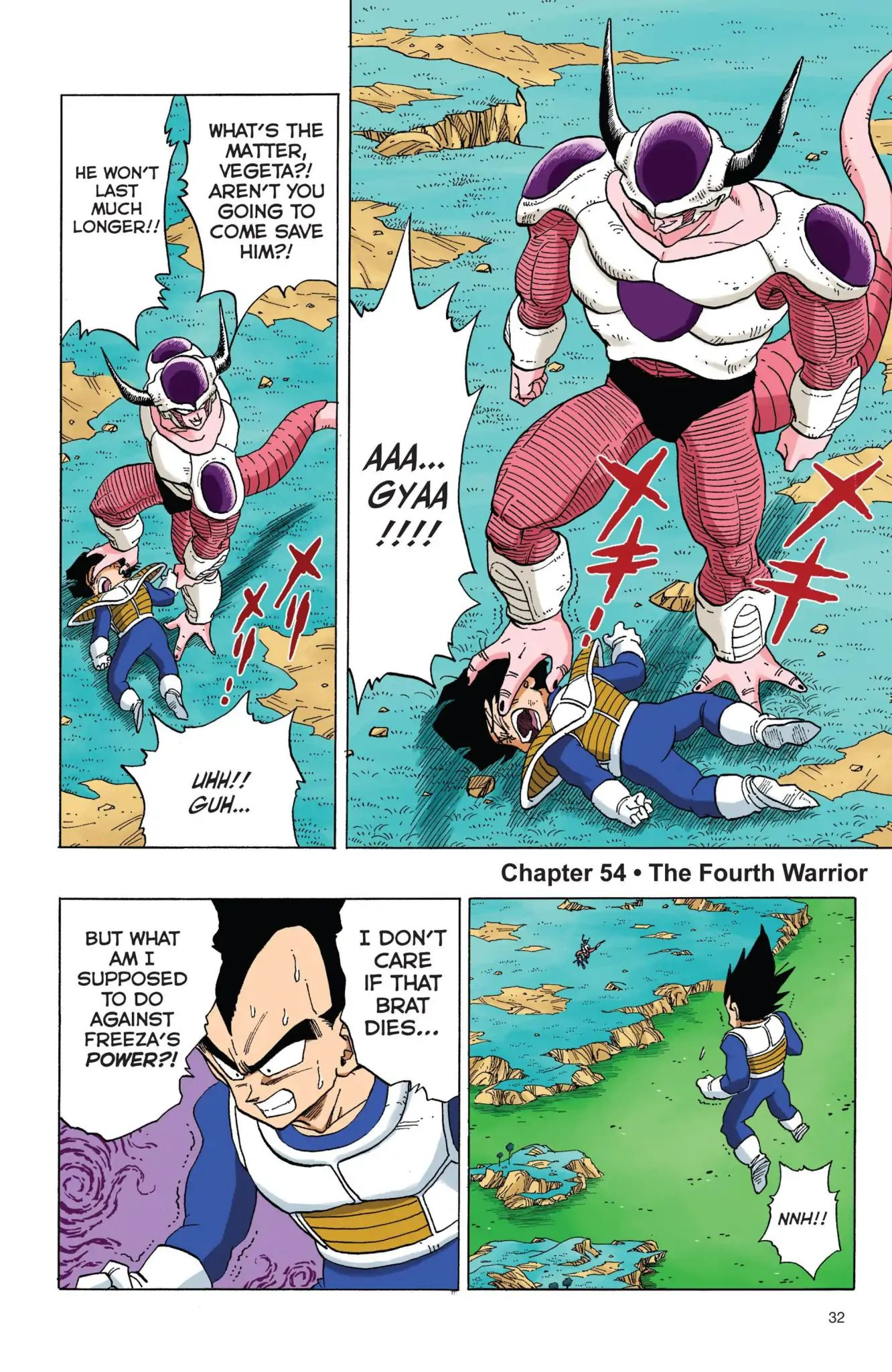 Dragon Ball Full Color Freeza Arc Chapter 54  Online Free Manga Read Image 1