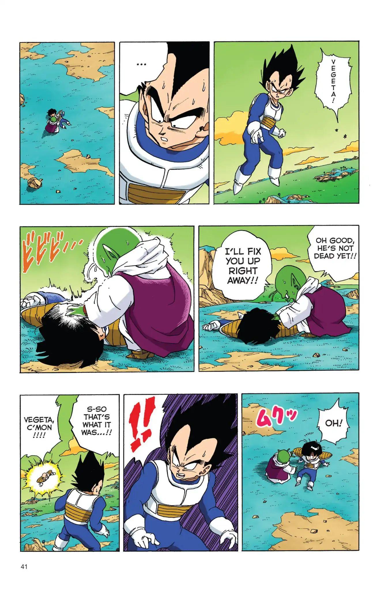 Dragon Ball Full Color Freeza Arc Chapter 54  Online Free Manga Read Image 10