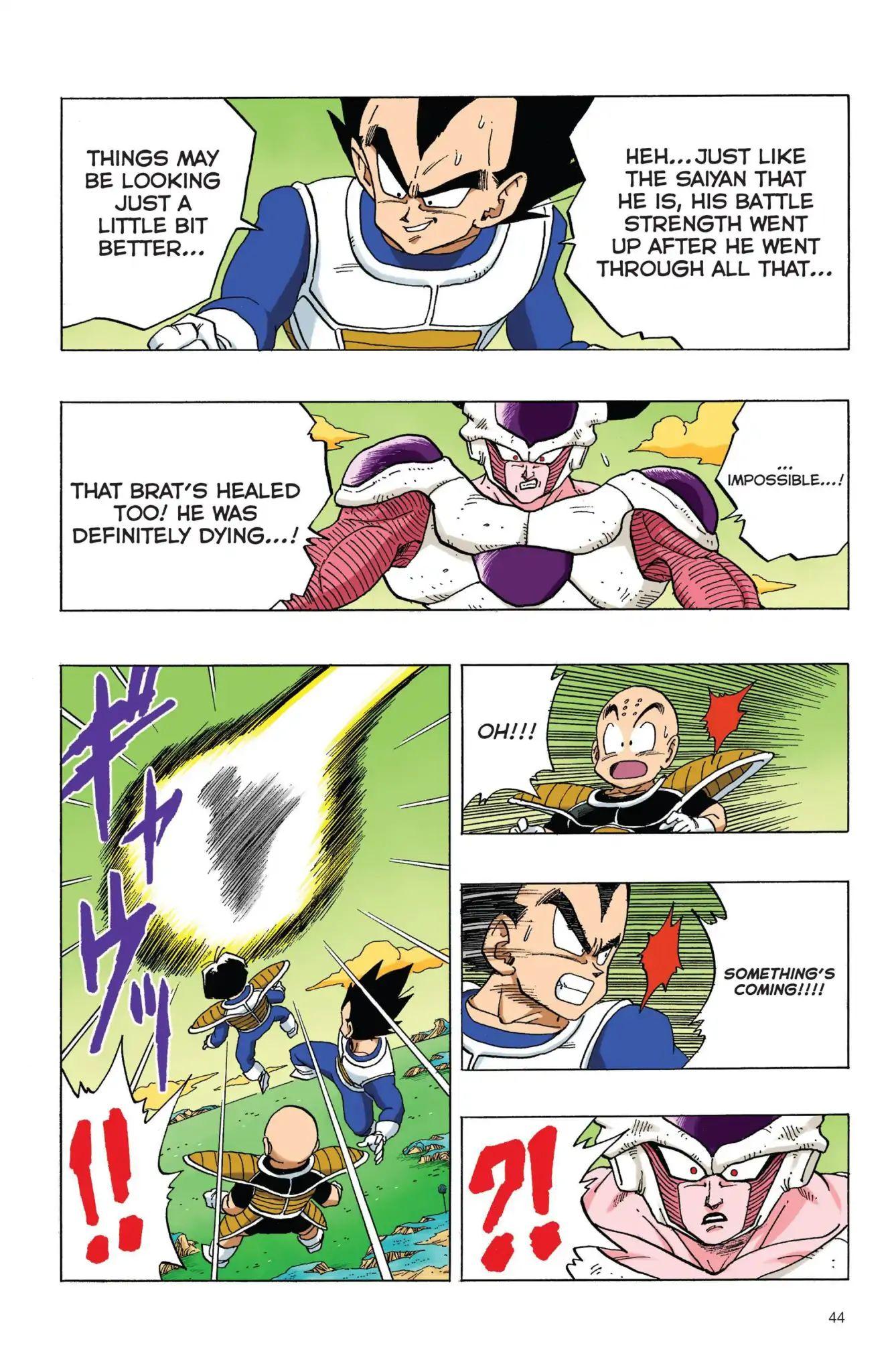 Dragon Ball Full Color Freeza Arc Chapter 54  Online Free Manga Read Image 13