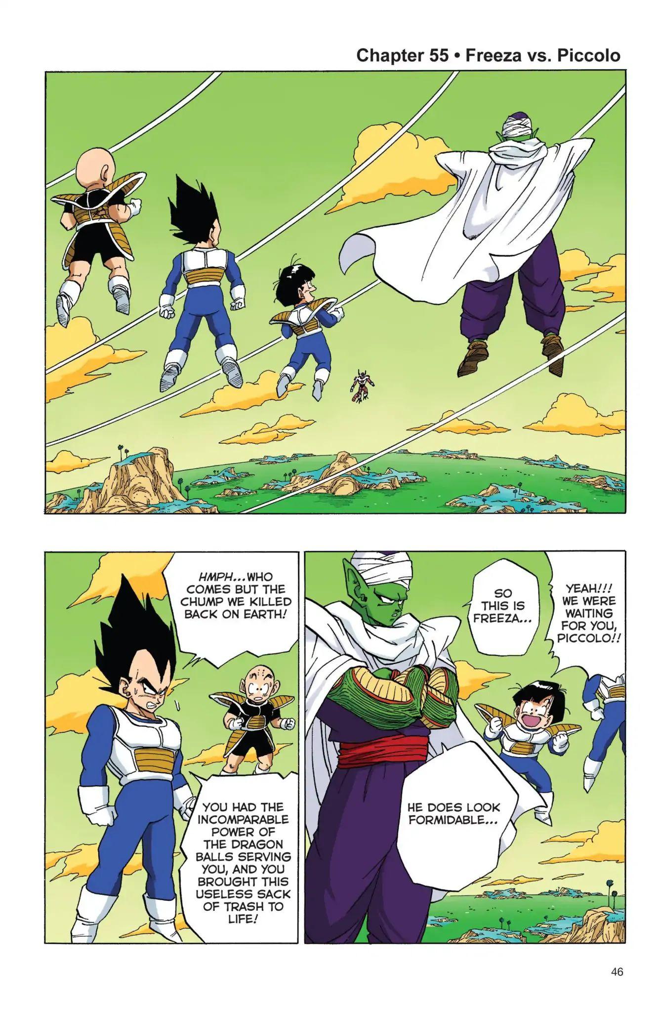 Dragon Ball Full Color Freeza Arc Chapter 55  Online Free Manga Read Image 1