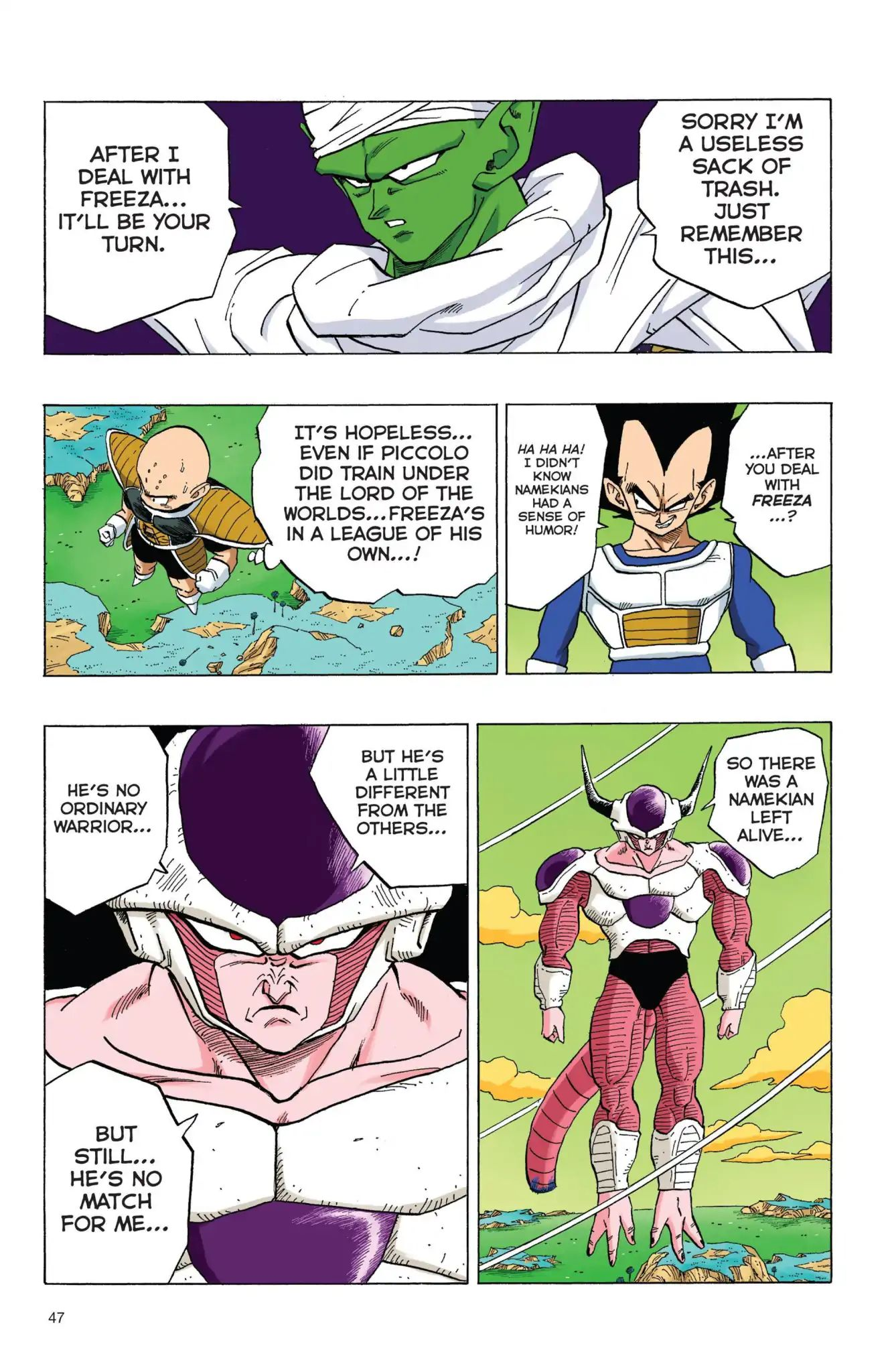 Dragon Ball Full Color Freeza Arc Chapter 55  Online Free Manga Read Image 2