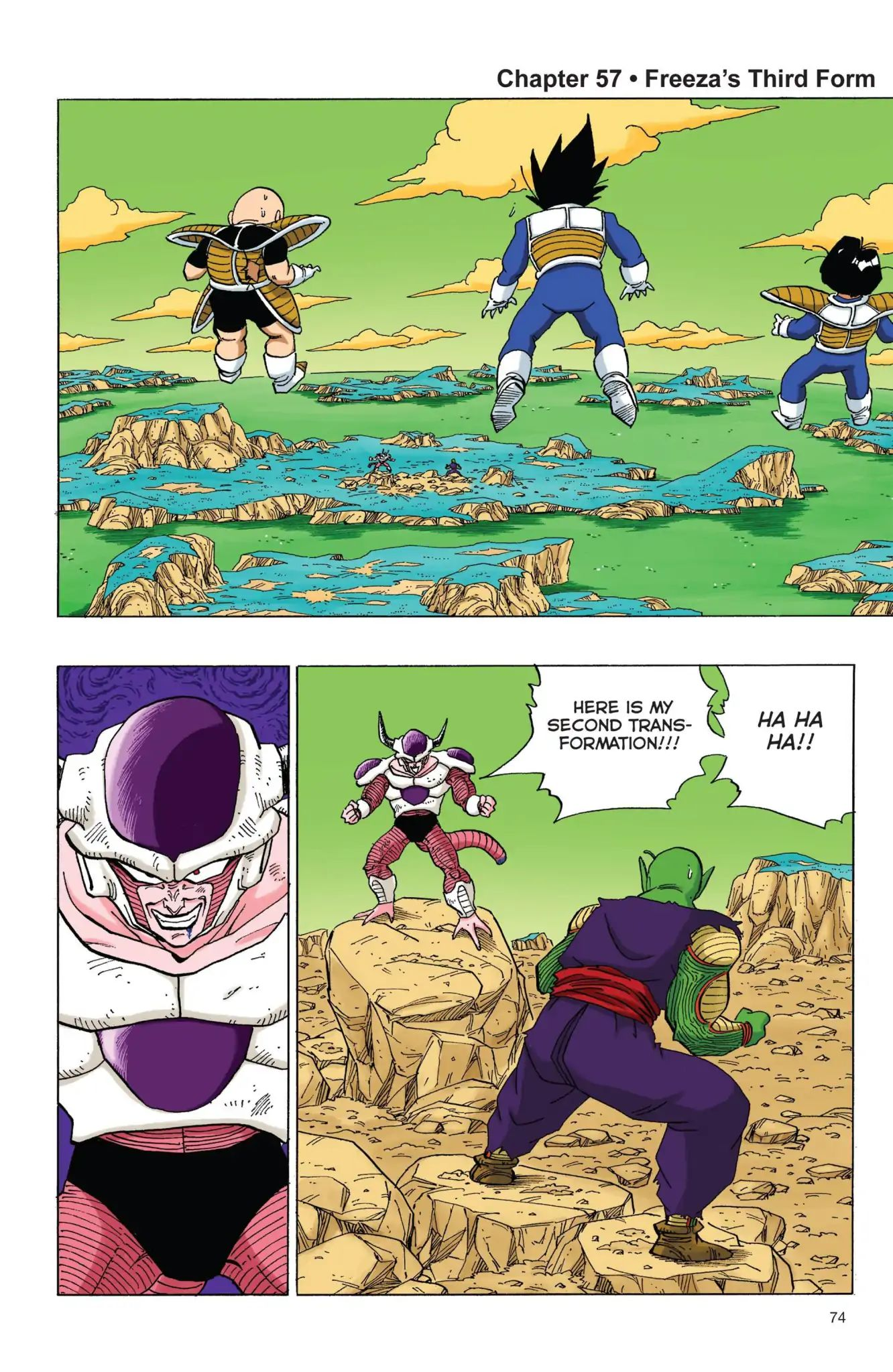 Dragon Ball Full Color Freeza Arc Chapter 57  Online Free Manga Read Image 1