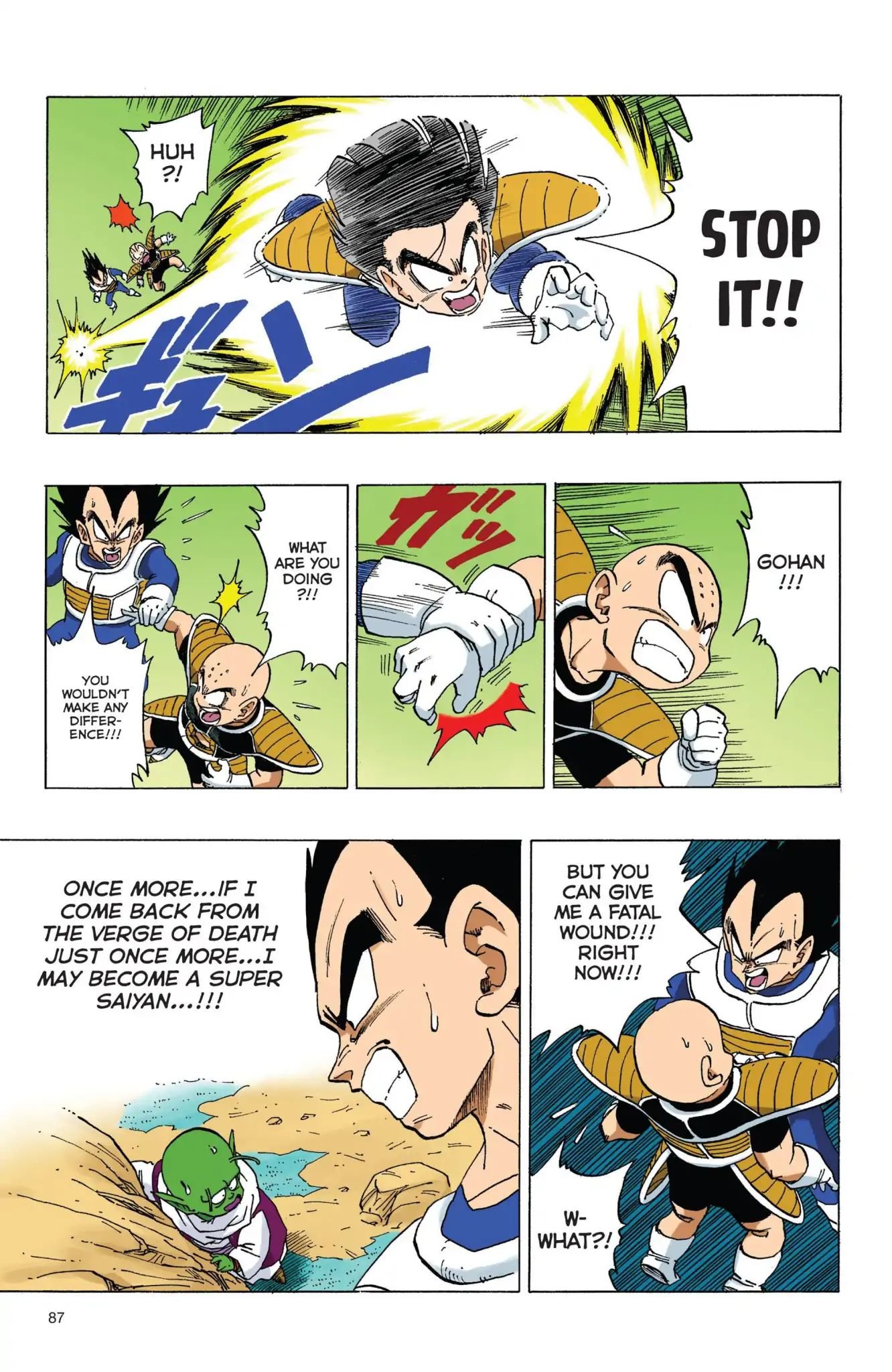 Dragon Ball Full Color Freeza Arc Chapter 57  Online Free Manga Read Image 14