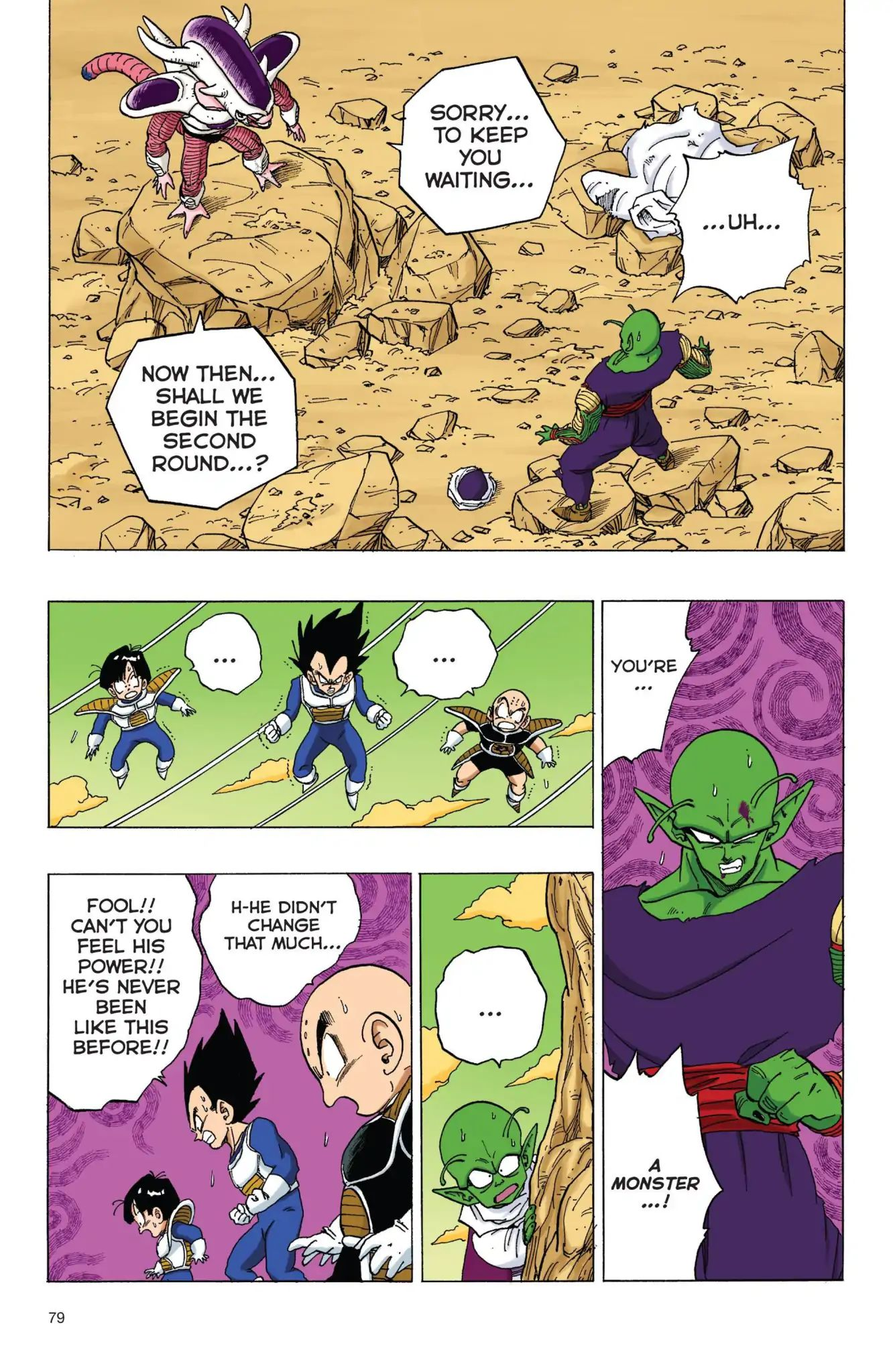 Dragon Ball Full Color Freeza Arc Chapter 57  Online Free Manga Read Image 6