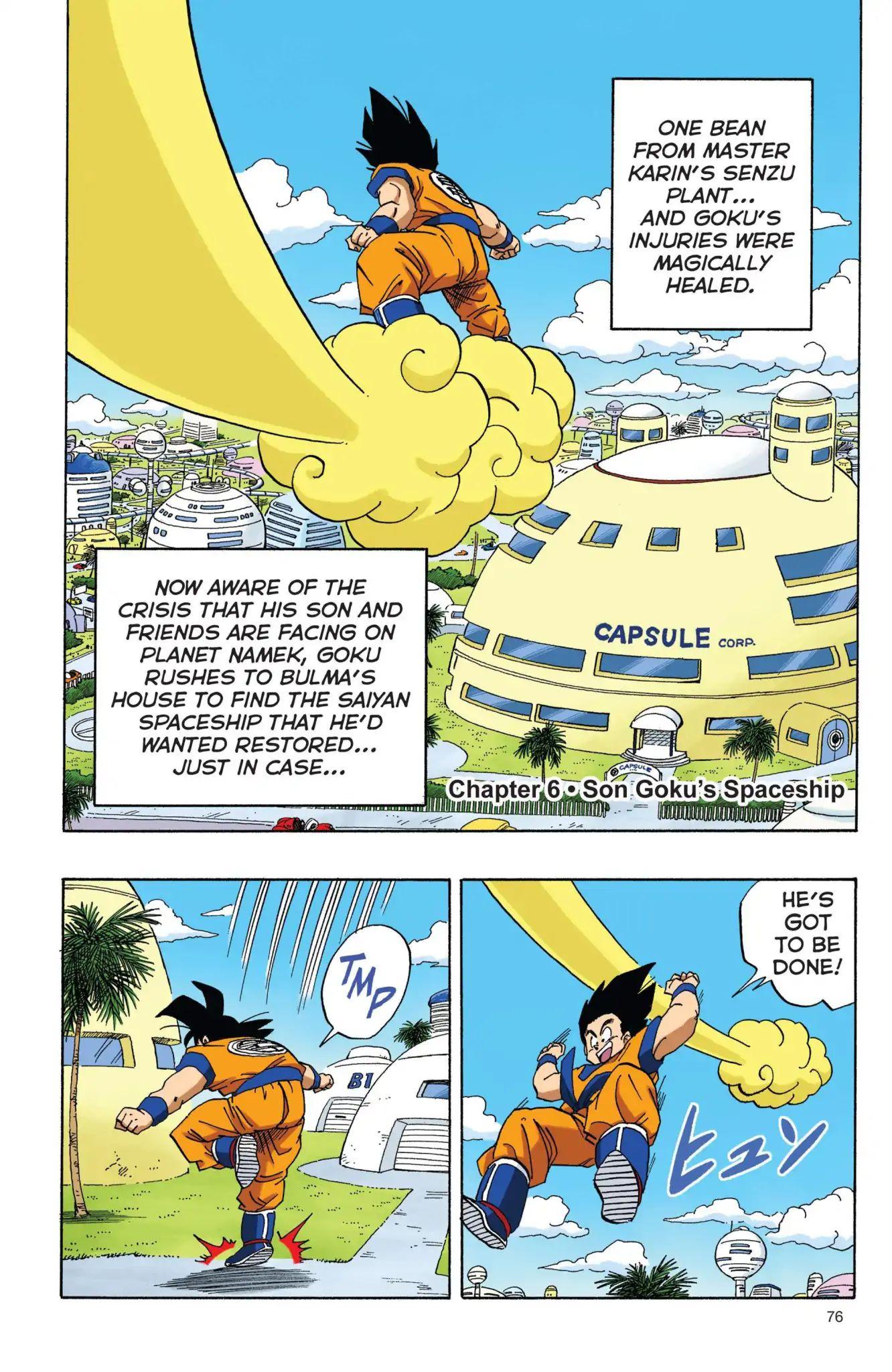 Dragon Ball Full Color Freeza Arc Chapter 6  Online Free Manga Read Image 1