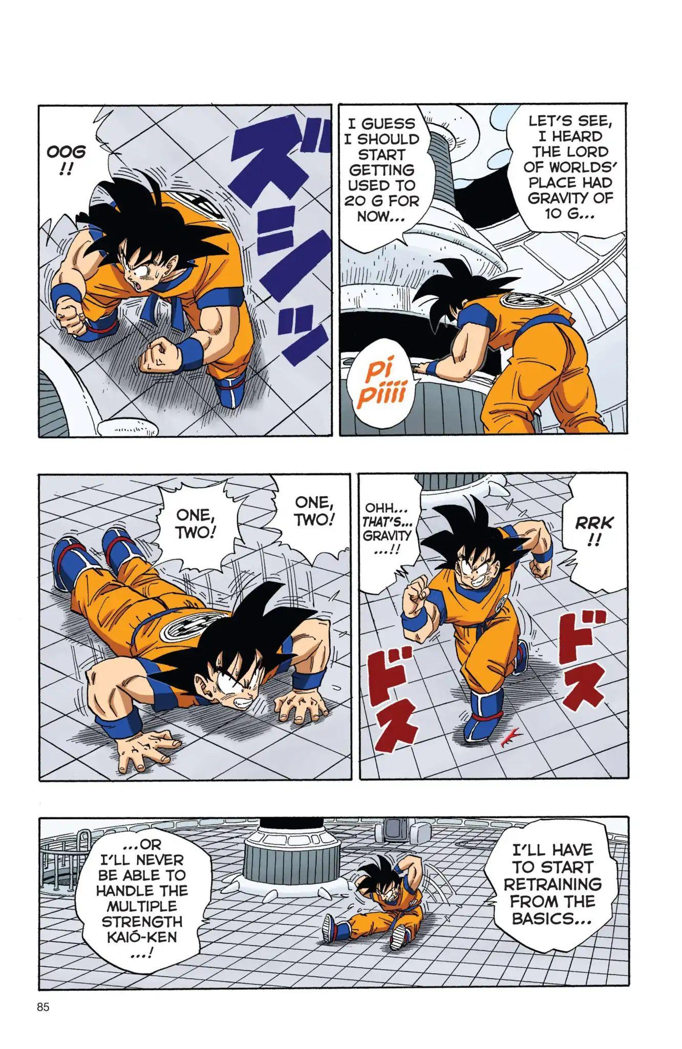 Dragon Ball Full Color Freeza Arc Chapter 6  Online Free Manga Read Image 10