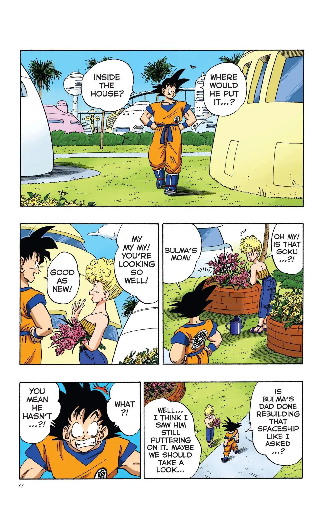 Dragon Ball Full Color Freeza Arc Chapter 6  Online Free Manga Read Image 2