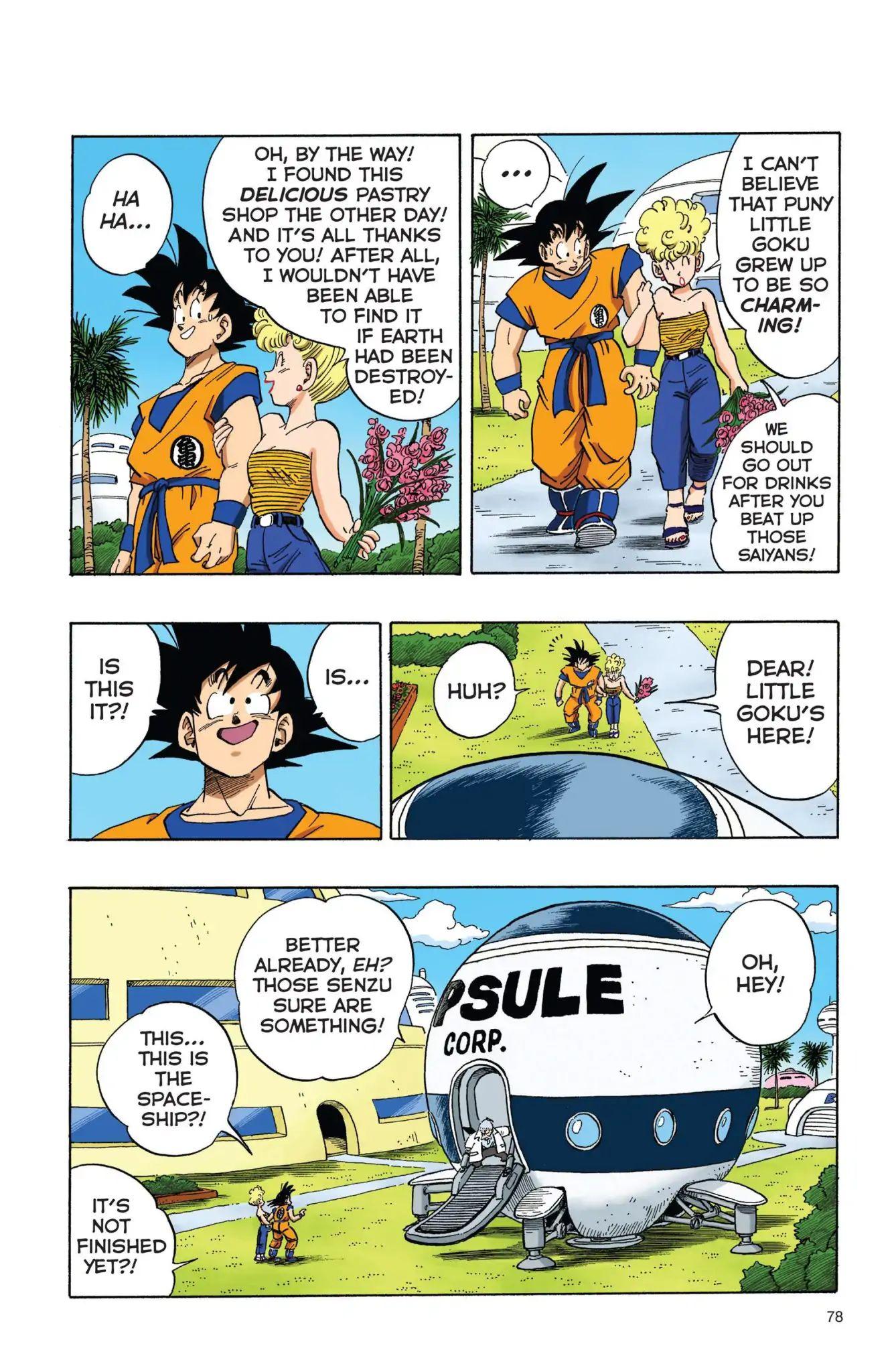Dragon Ball Full Color Freeza Arc Chapter 6  Online Free Manga Read Image 3