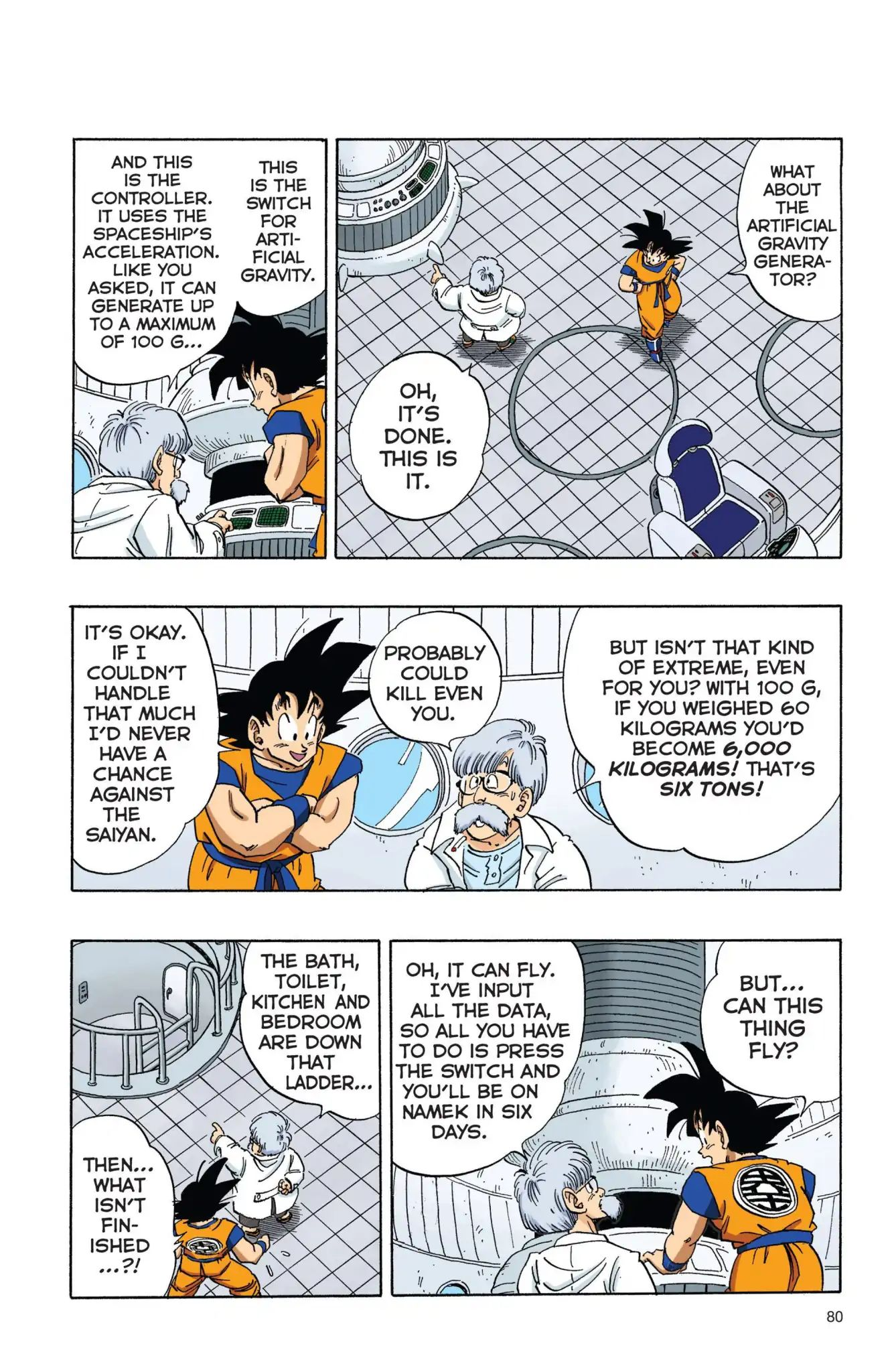 Dragon Ball Full Color Freeza Arc Chapter 6  Online Free Manga Read Image 5