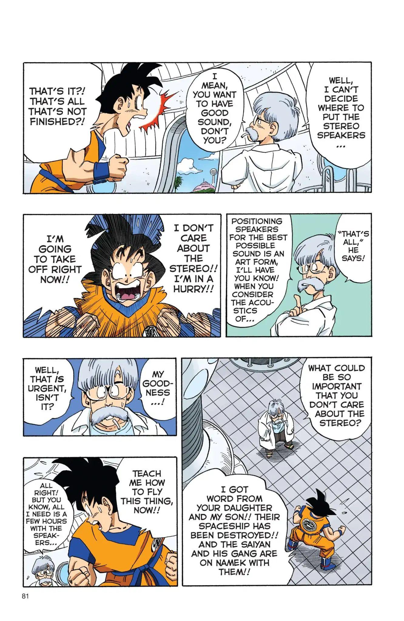 Dragon Ball Full Color Freeza Arc Chapter 6  Online Free Manga Read Image 6