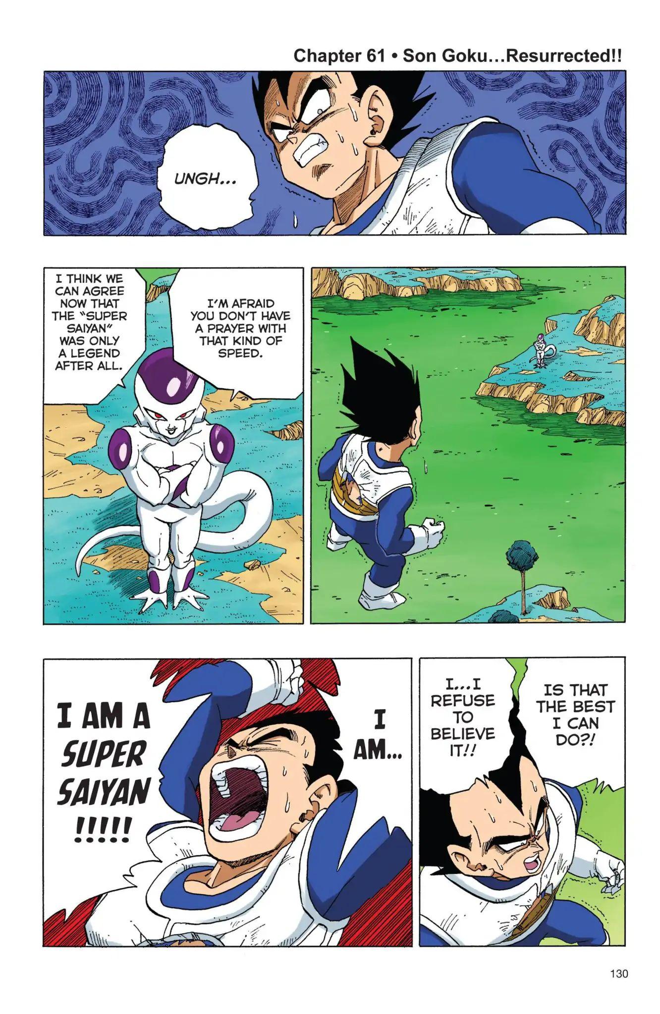 Dragon Ball Full Color Freeza Arc Chapter 61  Online Free Manga Read Image 1