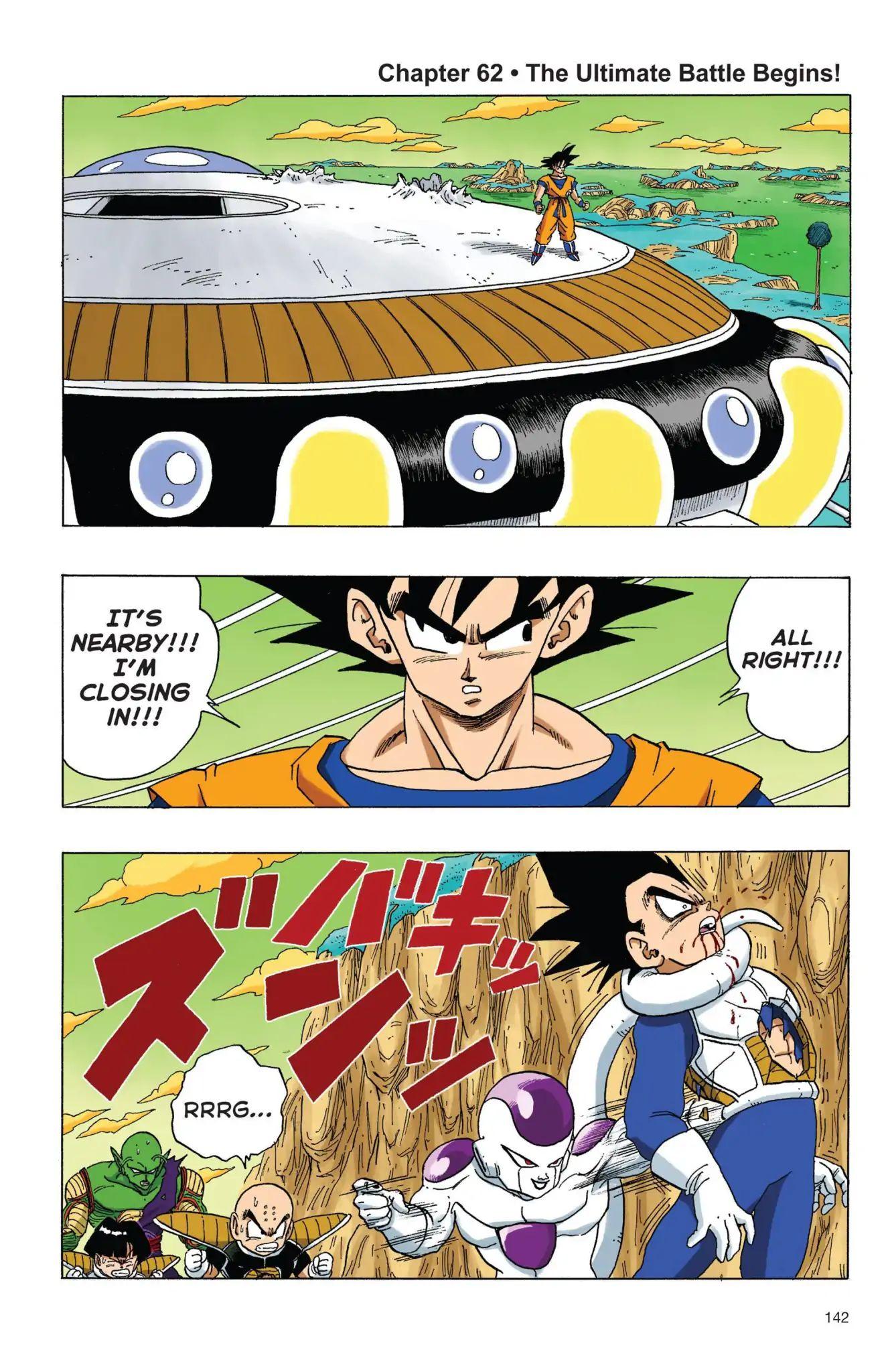 Dragon Ball Full Color Freeza Arc Chapter 62  Online Free Manga Read Image 1