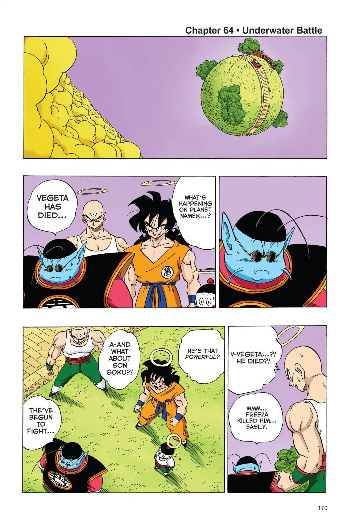 Dragon Ball Full Color Freeza Arc Chapter 64  Online Free Manga Read Image 1