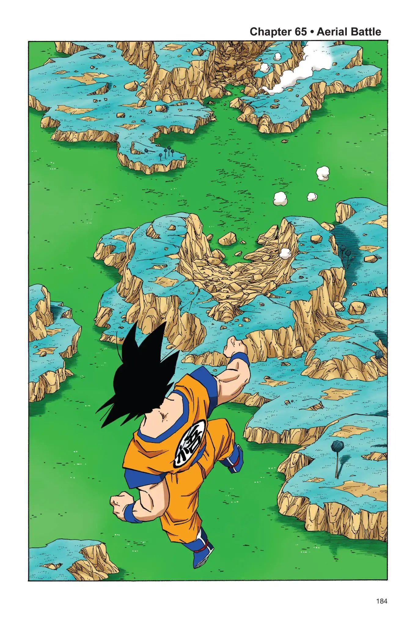 Dragon Ball Full Color Freeza Arc Chapter 65  Online Free Manga Read Image 1