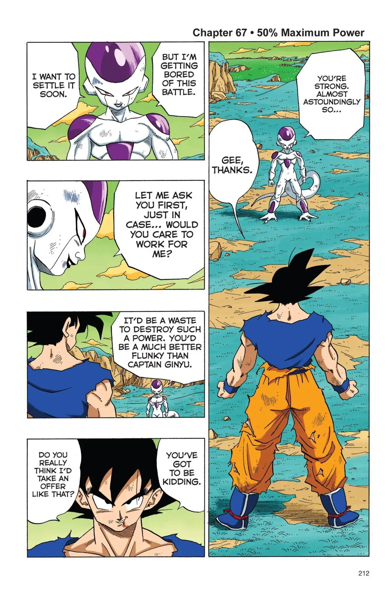 Dragon Ball Full Color Freeza Arc Chapter 67  Online Free Manga Read Image 1