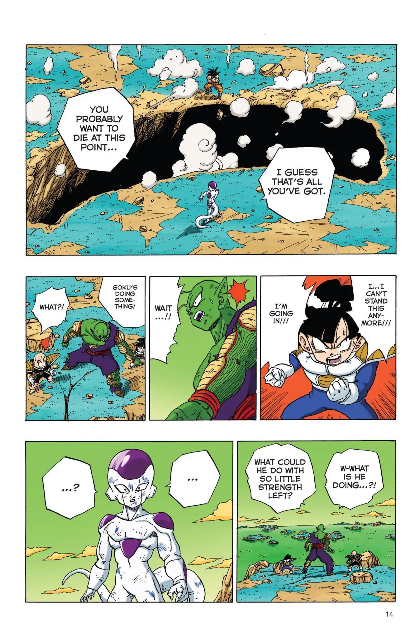 Dragon Ball Full Color Freeza Arc Chapter 69  Online Free Manga Read Image 15