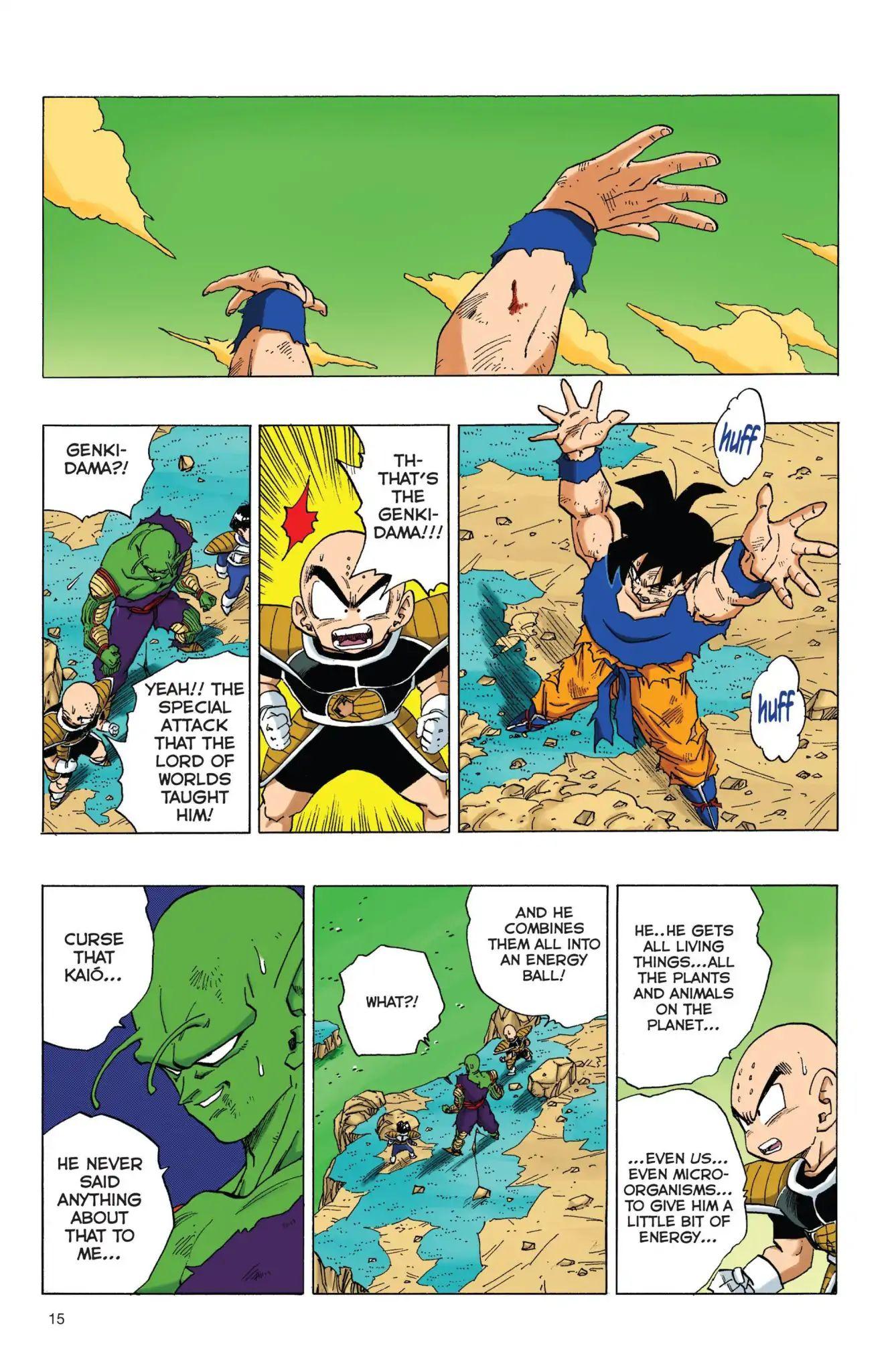 Dragon Ball Full Color Freeza Arc Chapter 69  Online Free Manga Read Image 16
