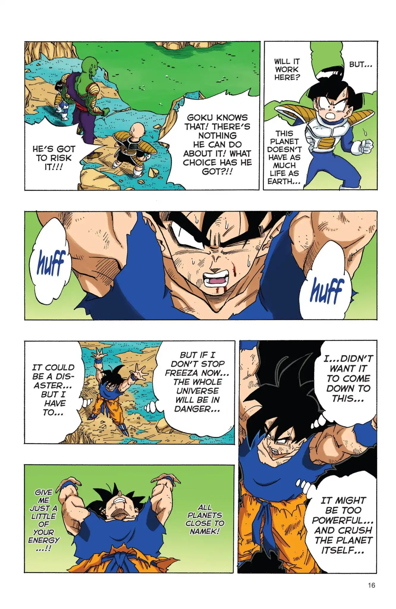 Dragon Ball Full Color Freeza Arc Chapter 69  Online Free Manga Read Image 17