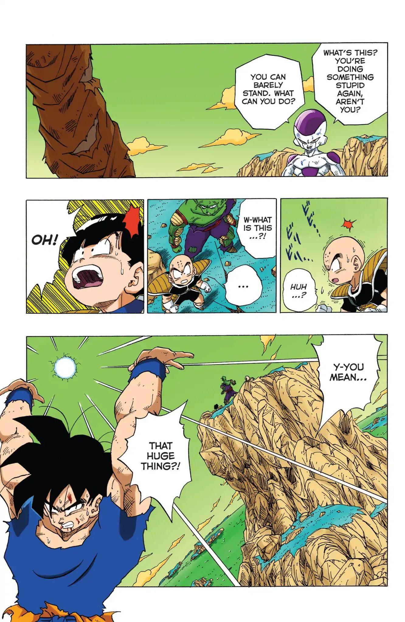 Dragon Ball Full Color Freeza Arc Chapter 69  Online Free Manga Read Image 18