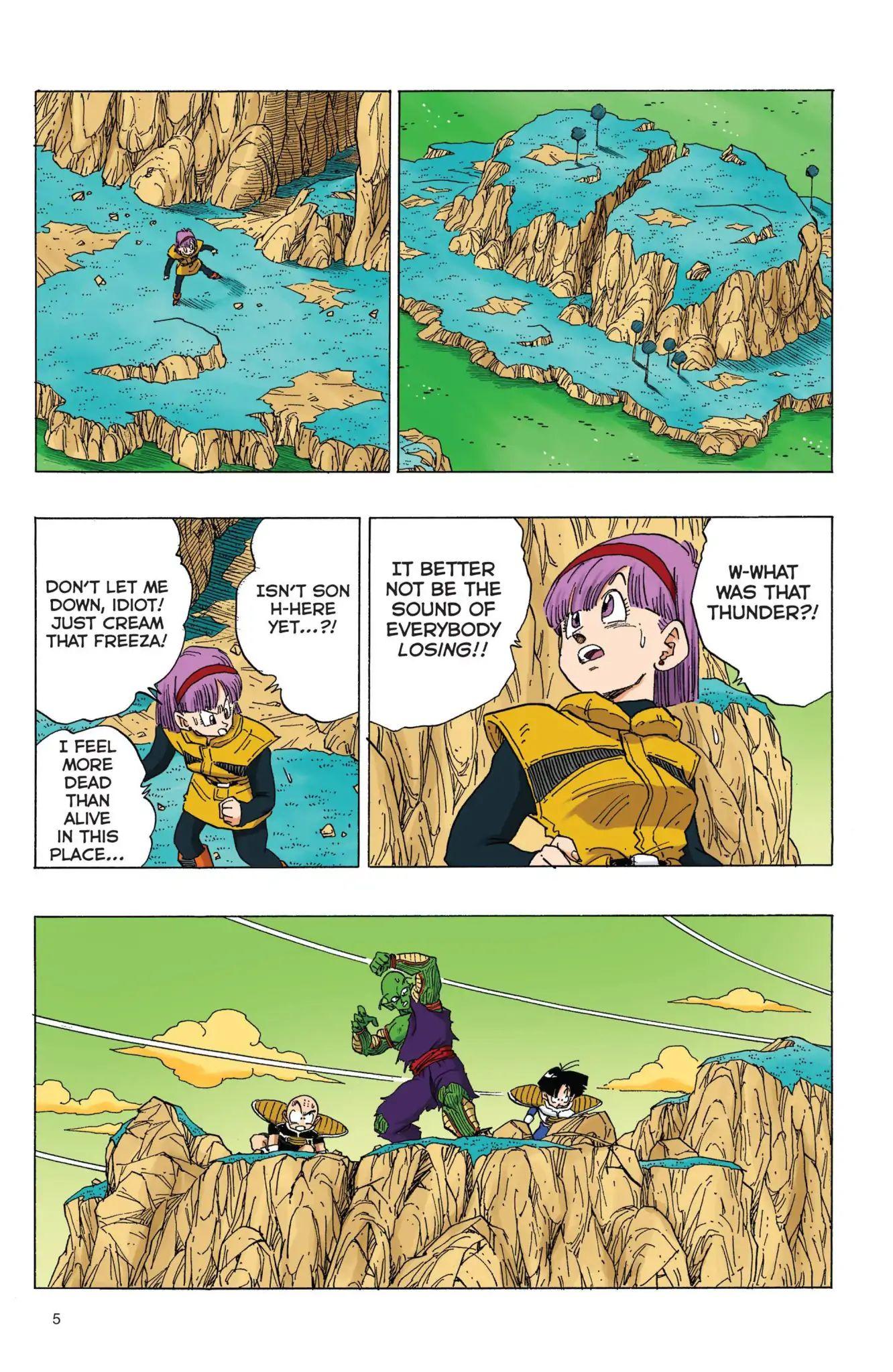 Dragon Ball Full Color Freeza Arc Chapter 69  Online Free Manga Read Image 6
