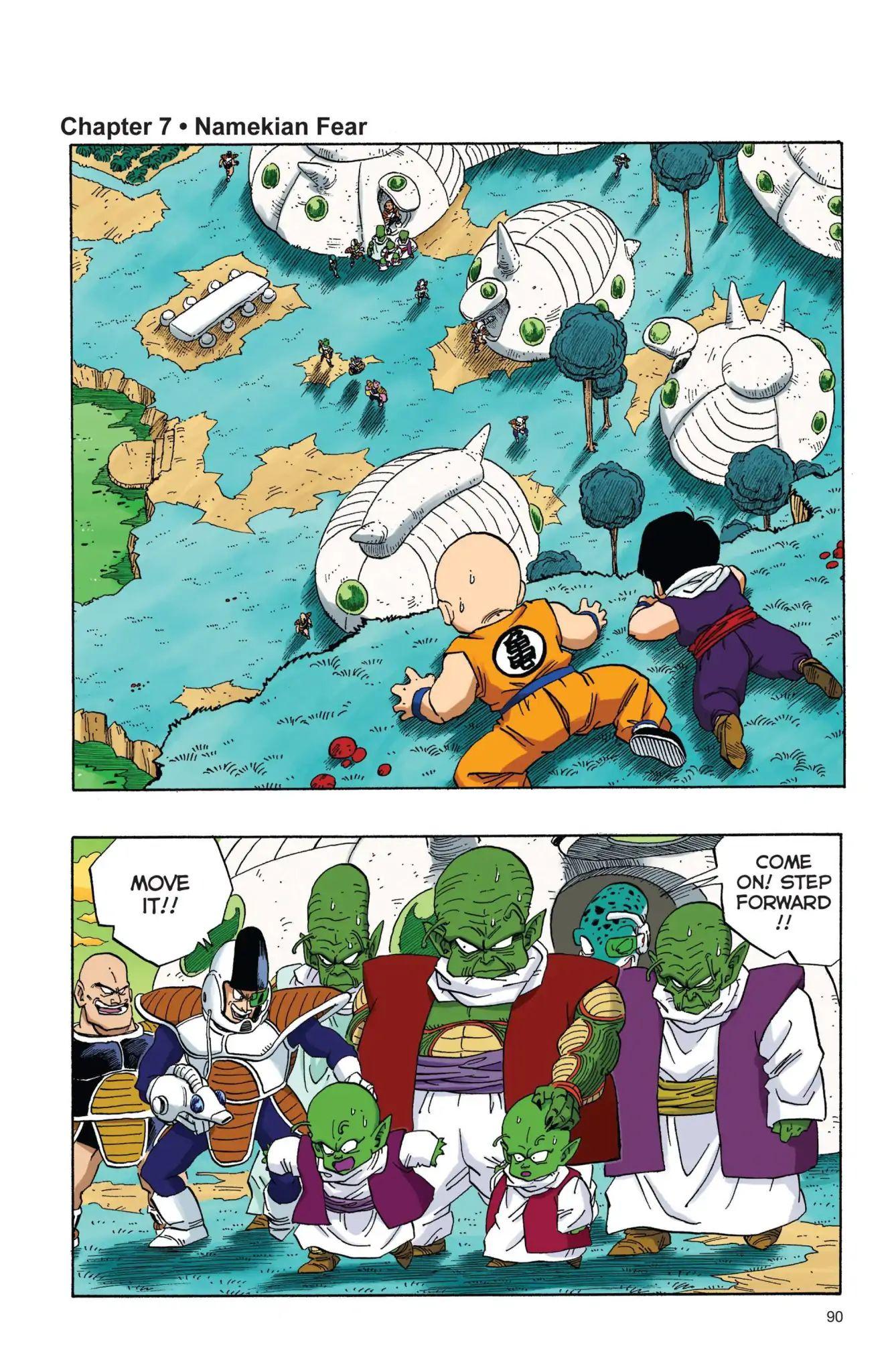 Dragon Ball Full Color Freeza Arc Chapter 7  Online Free Manga Read Image 1