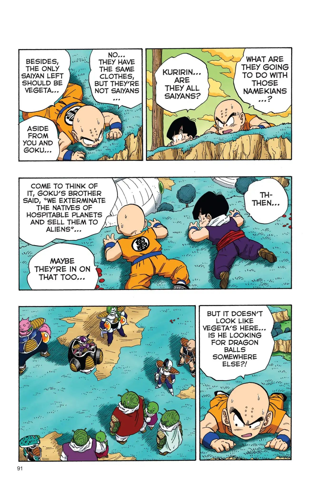 Dragon Ball Full Color Freeza Arc Chapter 7  Online Free Manga Read Image 2