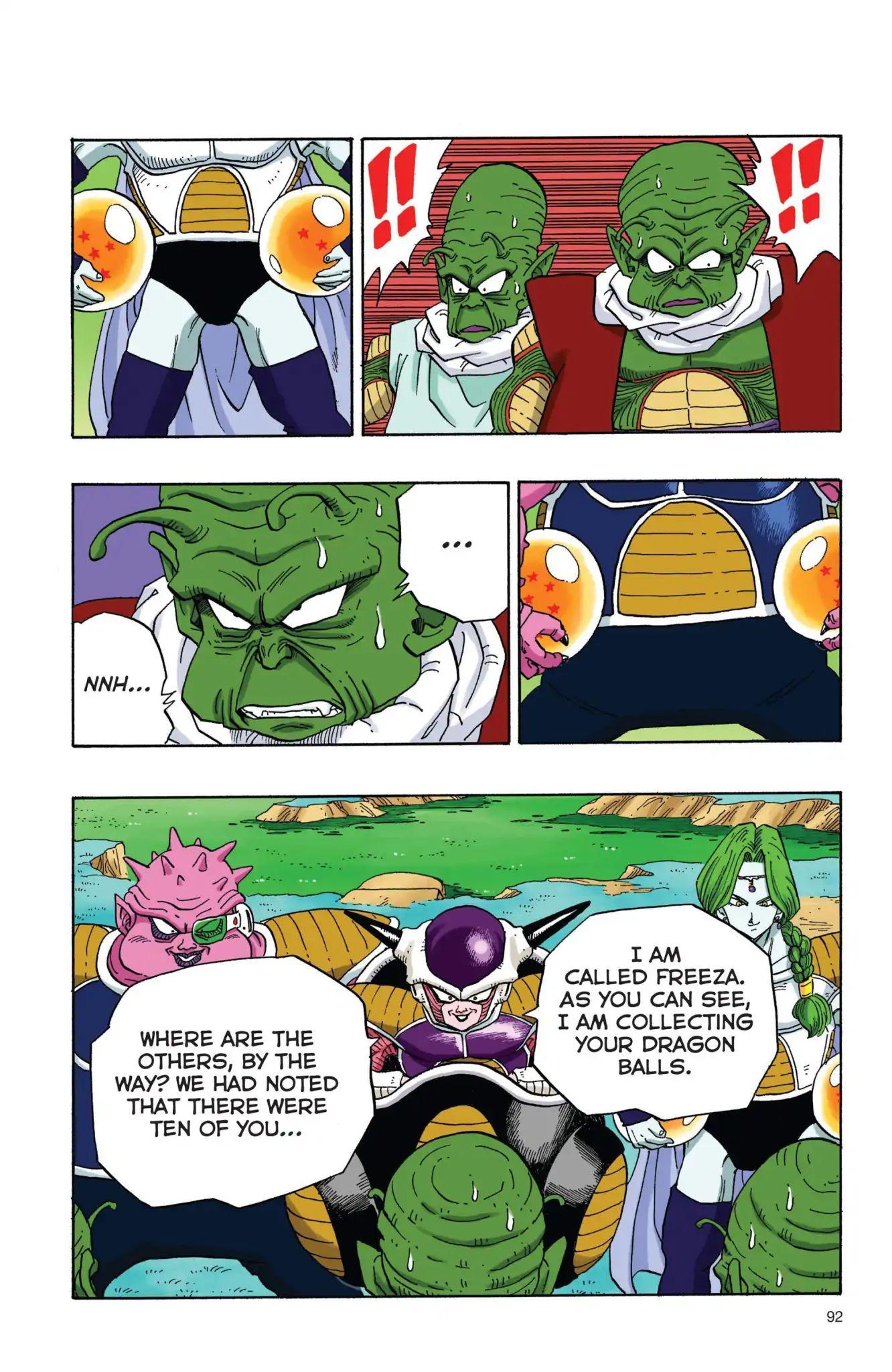 Dragon Ball Full Color Freeza Arc Chapter 7  Online Free Manga Read Image 3