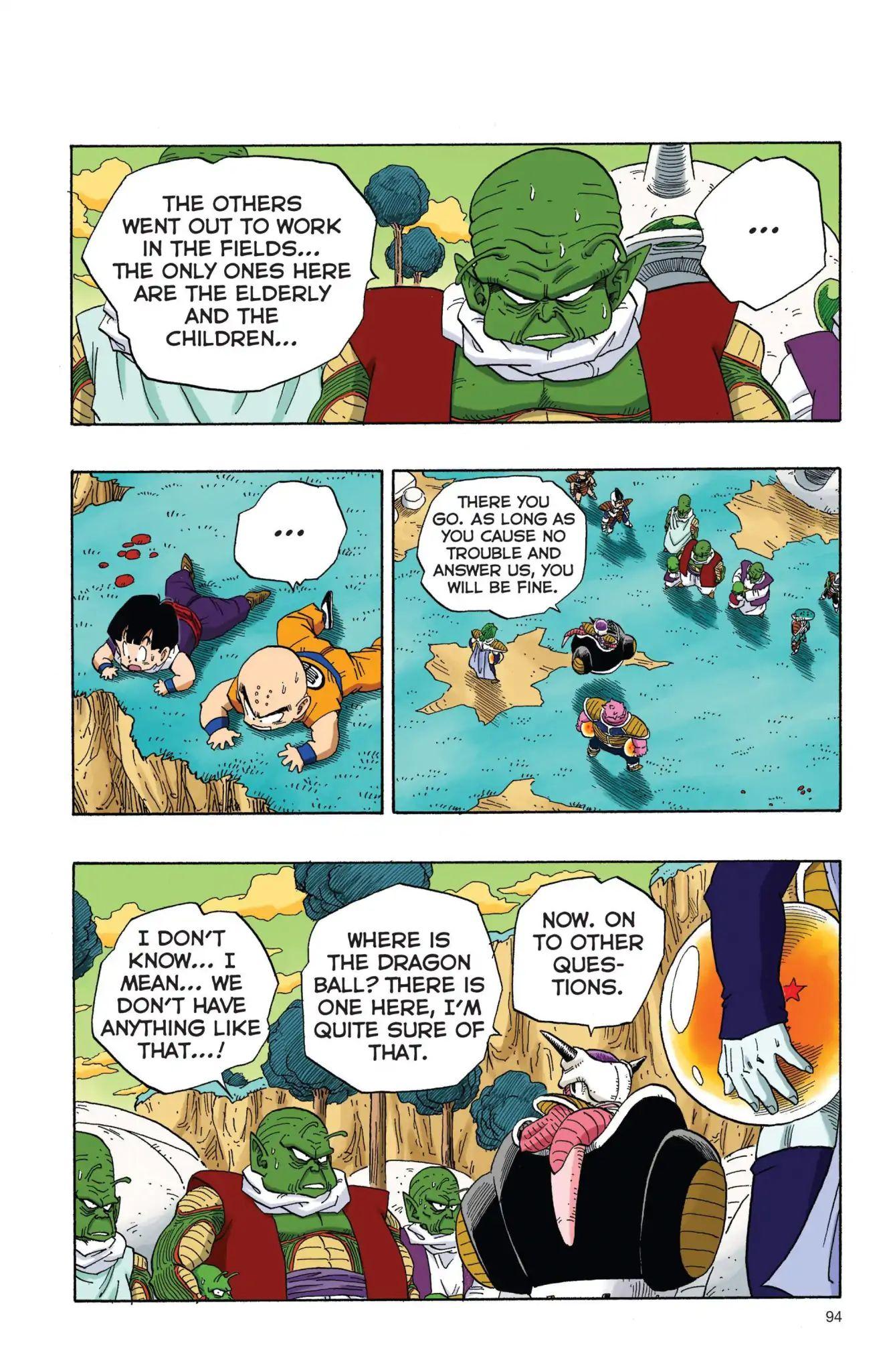 Dragon Ball Full Color Freeza Arc Chapter 7  Online Free Manga Read Image 5