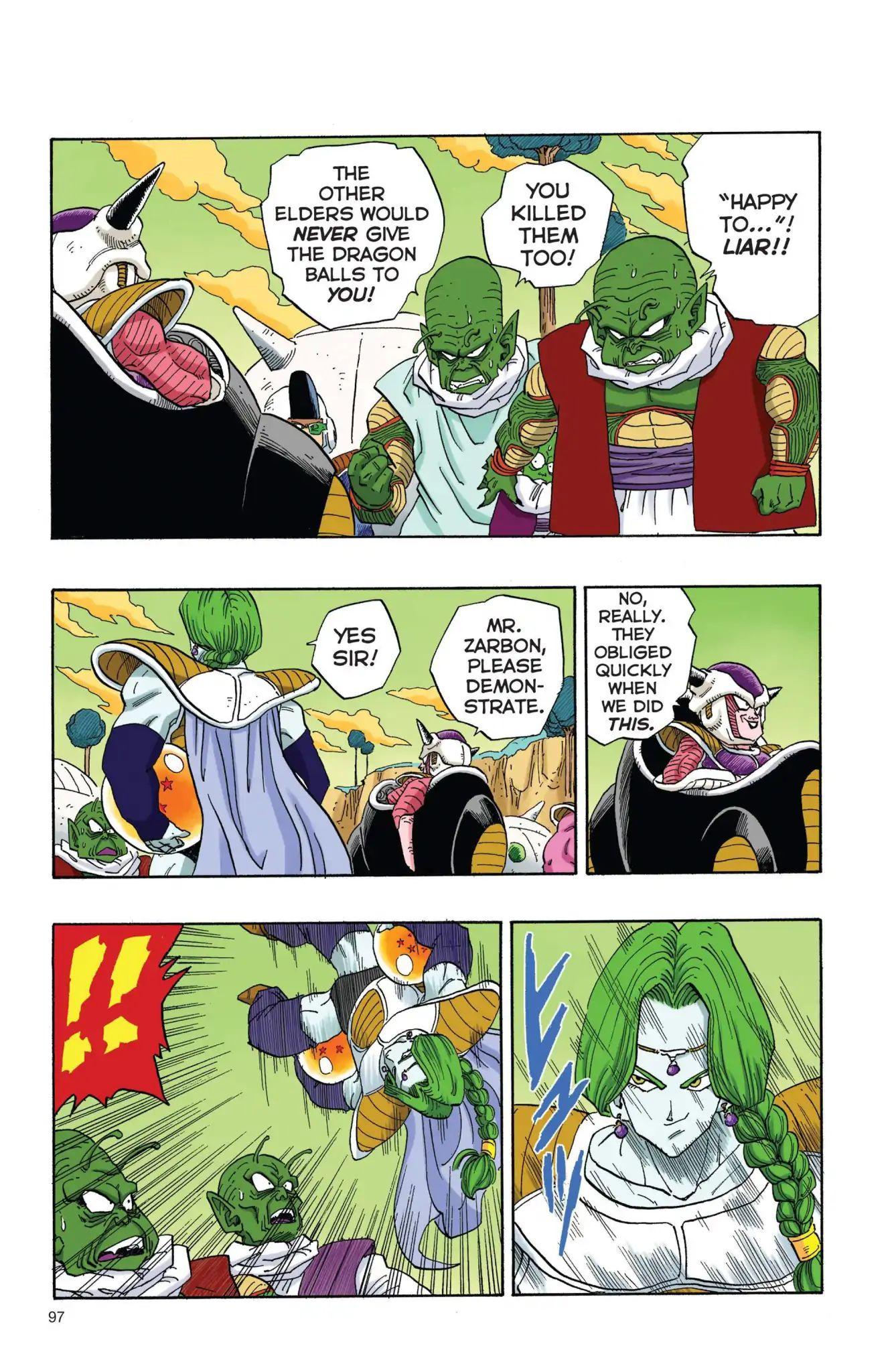 Dragon Ball Full Color Freeza Arc Chapter 7  Online Free Manga Read Image 8
