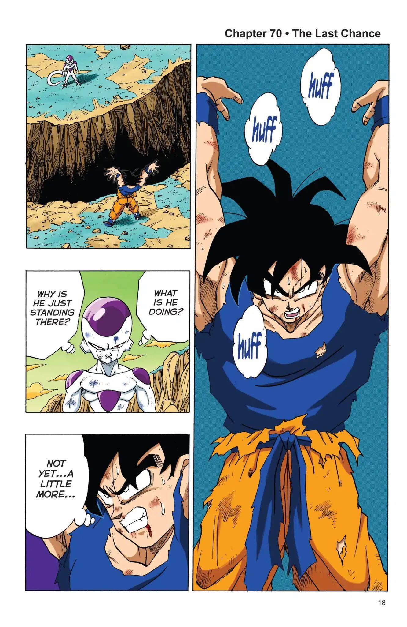 Dragon Ball Full Color Freeza Arc Chapter 70  Online Free Manga Read Image 1