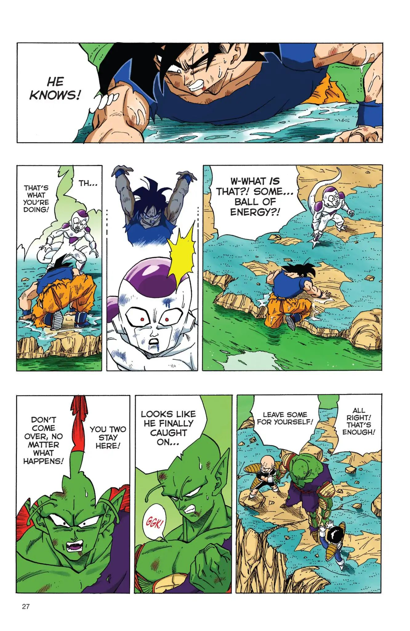 Dragon Ball Full Color Freeza Arc Chapter 70  Online Free Manga Read Image 10