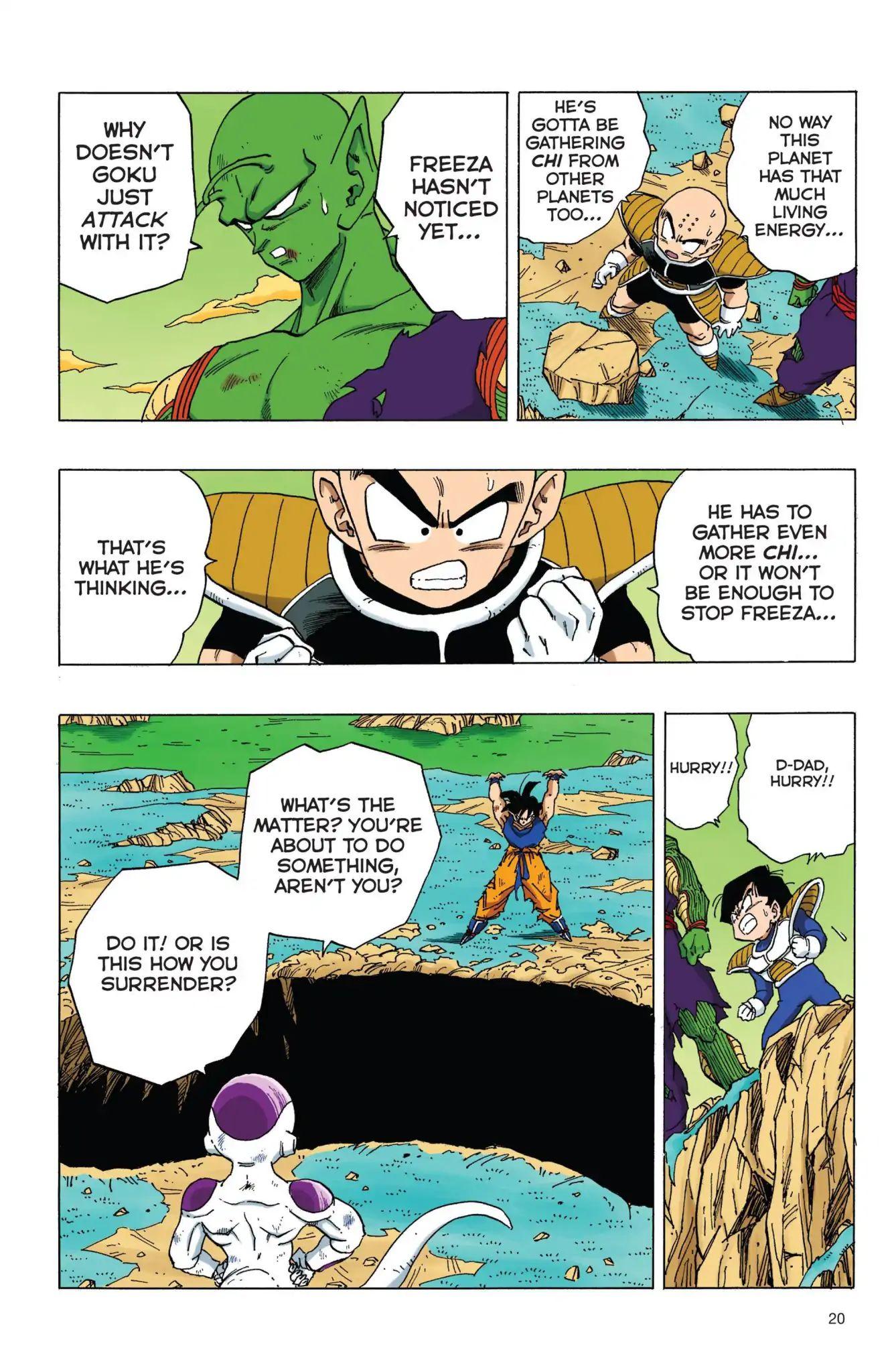 Dragon Ball Full Color Freeza Arc Chapter 70  Online Free Manga Read Image 3