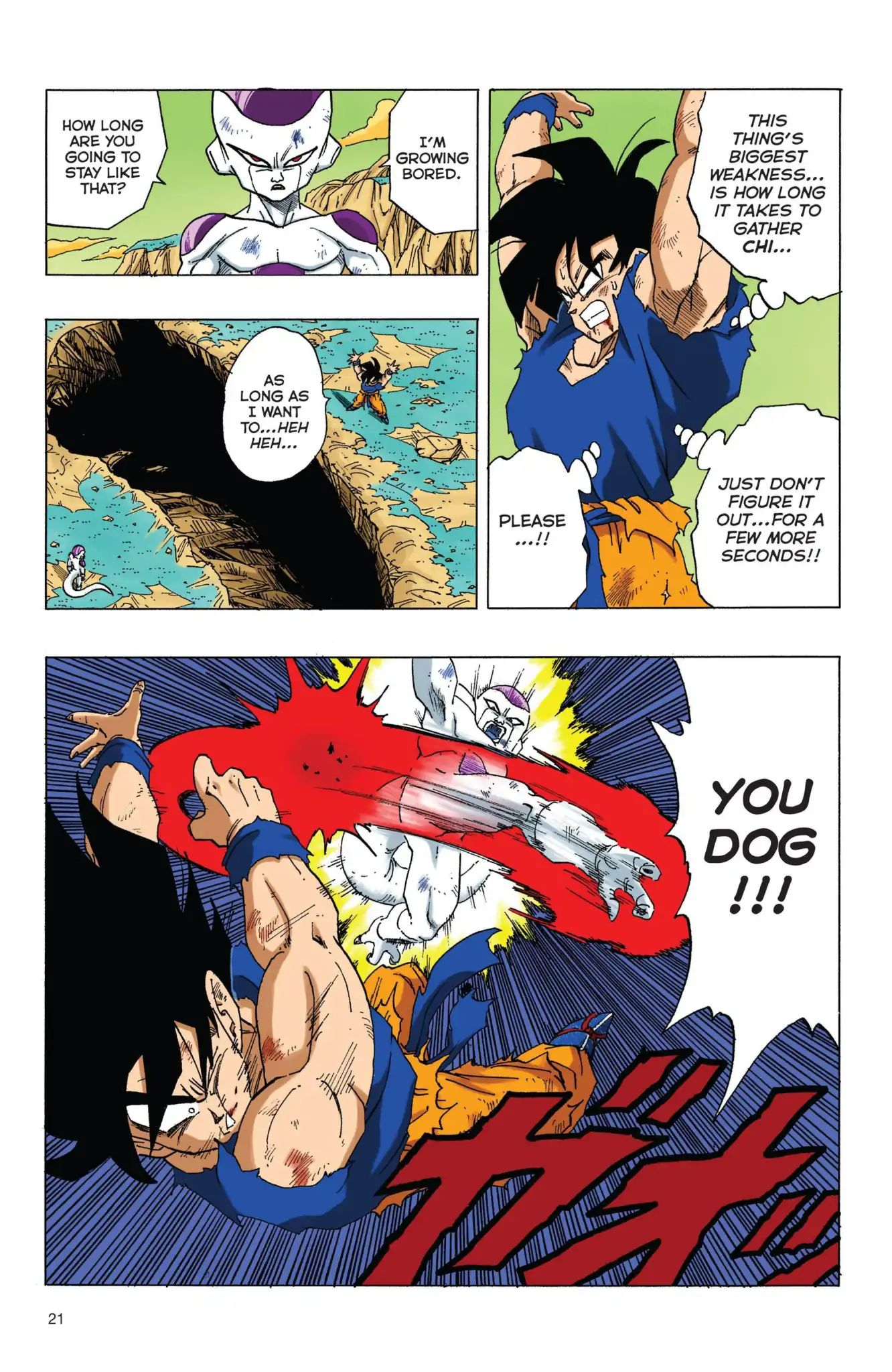 Dragon Ball Full Color Freeza Arc Chapter 70  Online Free Manga Read Image 4