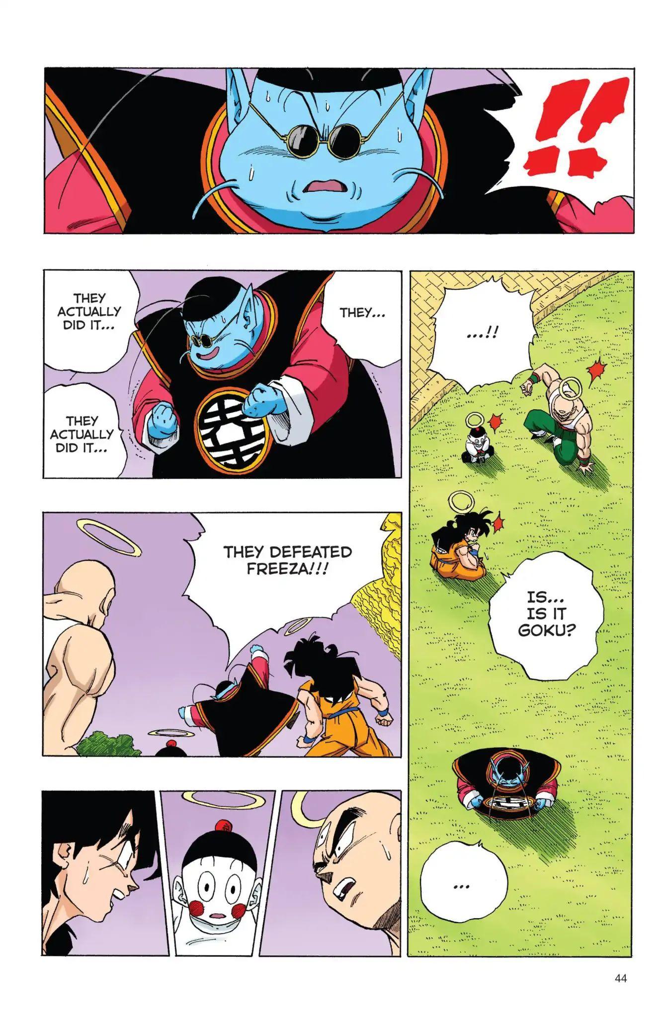 Dragon Ball Full Color Freeza Arc Chapter 71  Online Free Manga Read Image 12