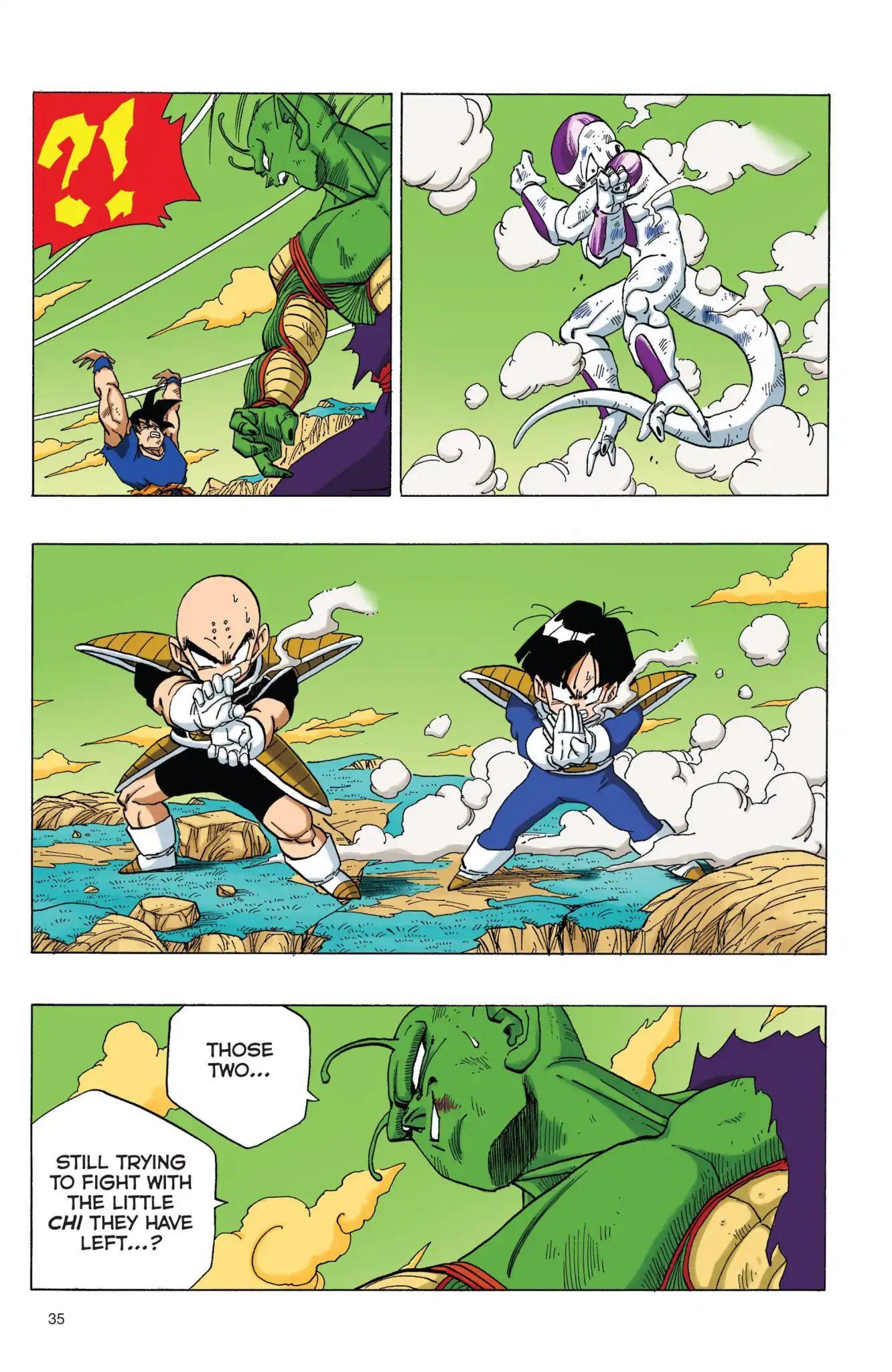 Dragon Ball Full Color Freeza Arc Chapter 71  Online Free Manga Read Image 3